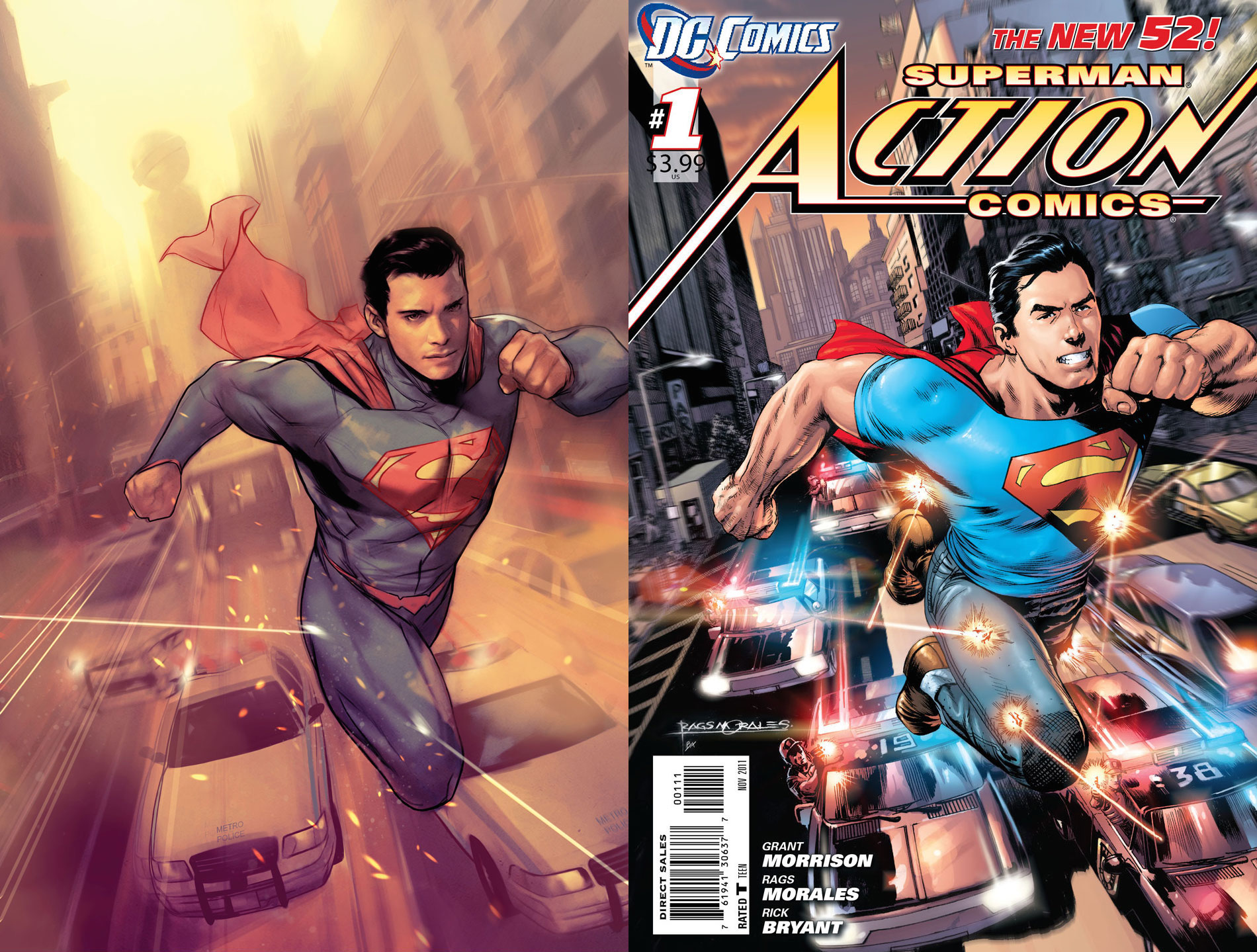 DC Comics celebrates classic covers from five whole years ago