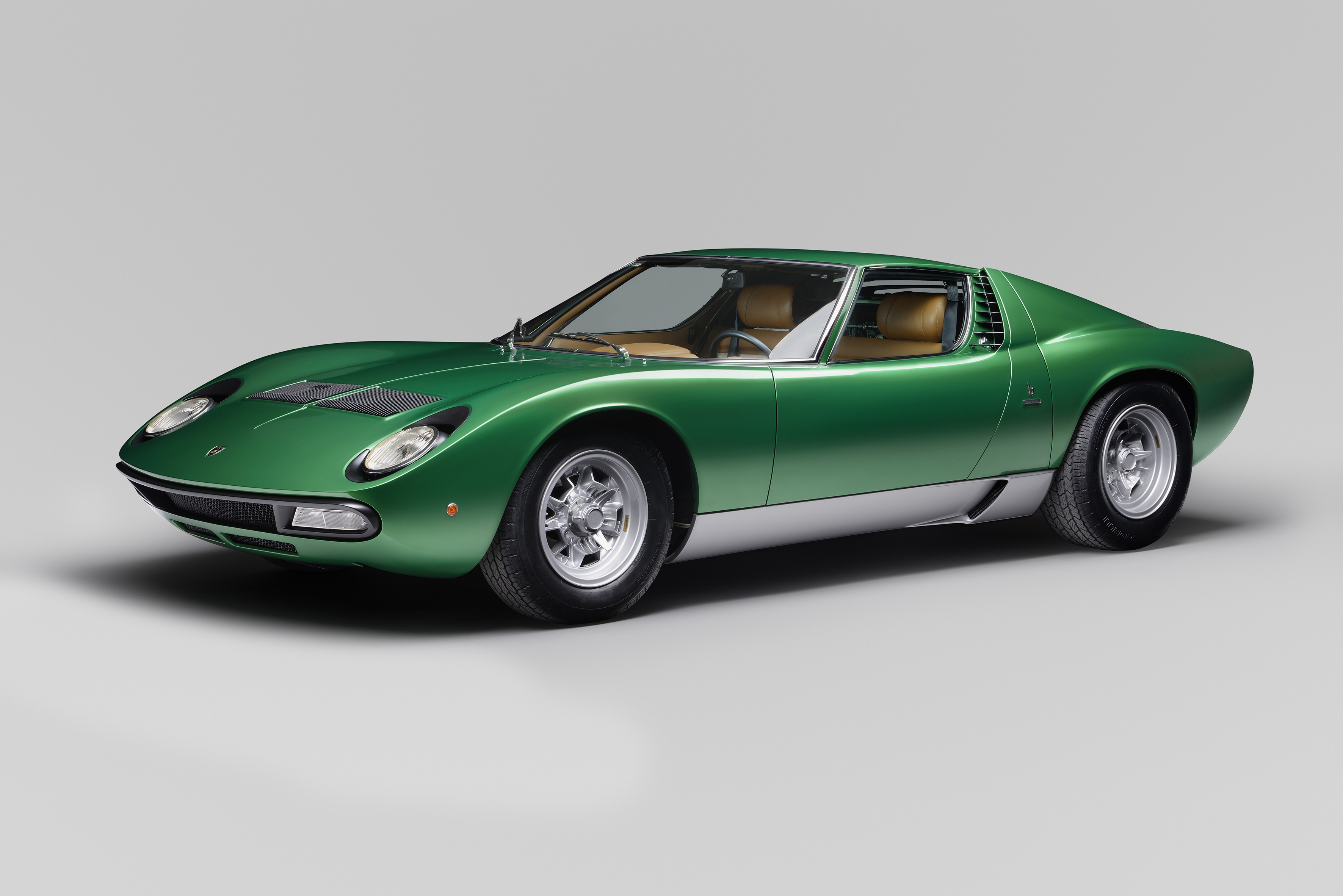 Lamborghini completely restored the first Miura SV for the car's 50th anniversary