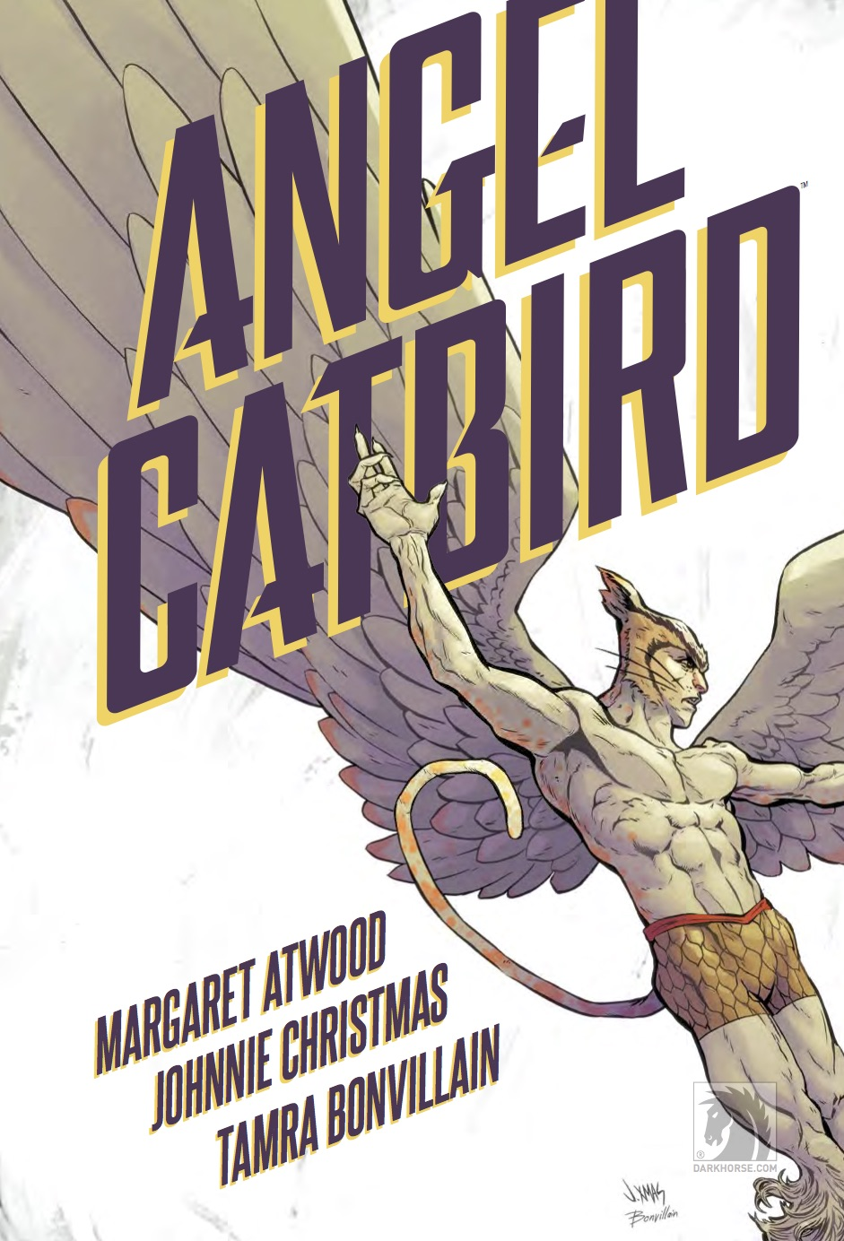 Margaret Atwood's graphic novel about a bird-cat-man superhero is a real trip