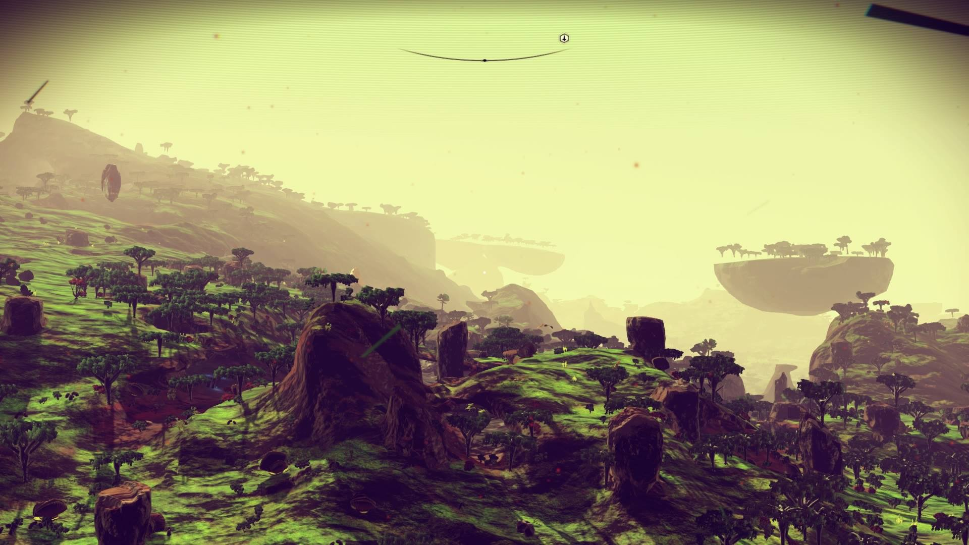 Behold No Man's Sky players' gorgeous first planets