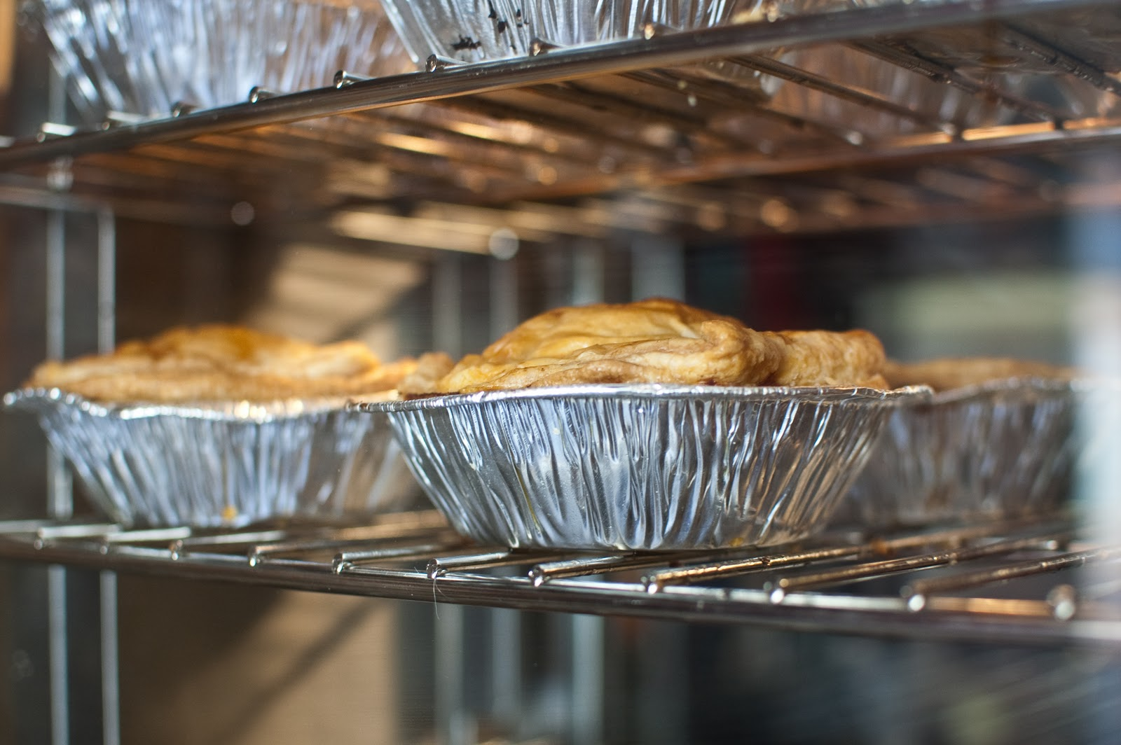 Meat pies at KO Pies in South Boston