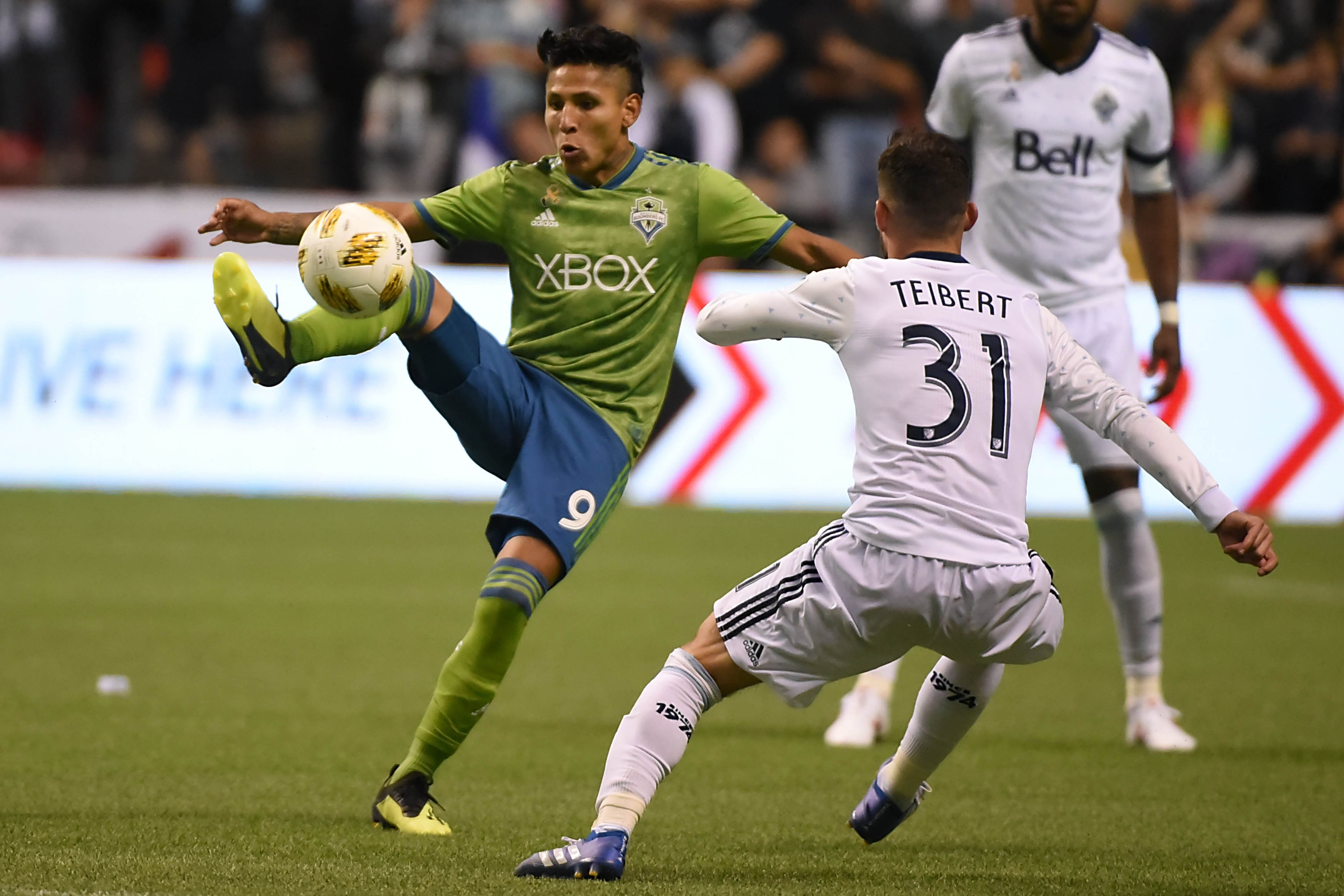 MLS - Seattle Sounders - Raul Ruidiaz