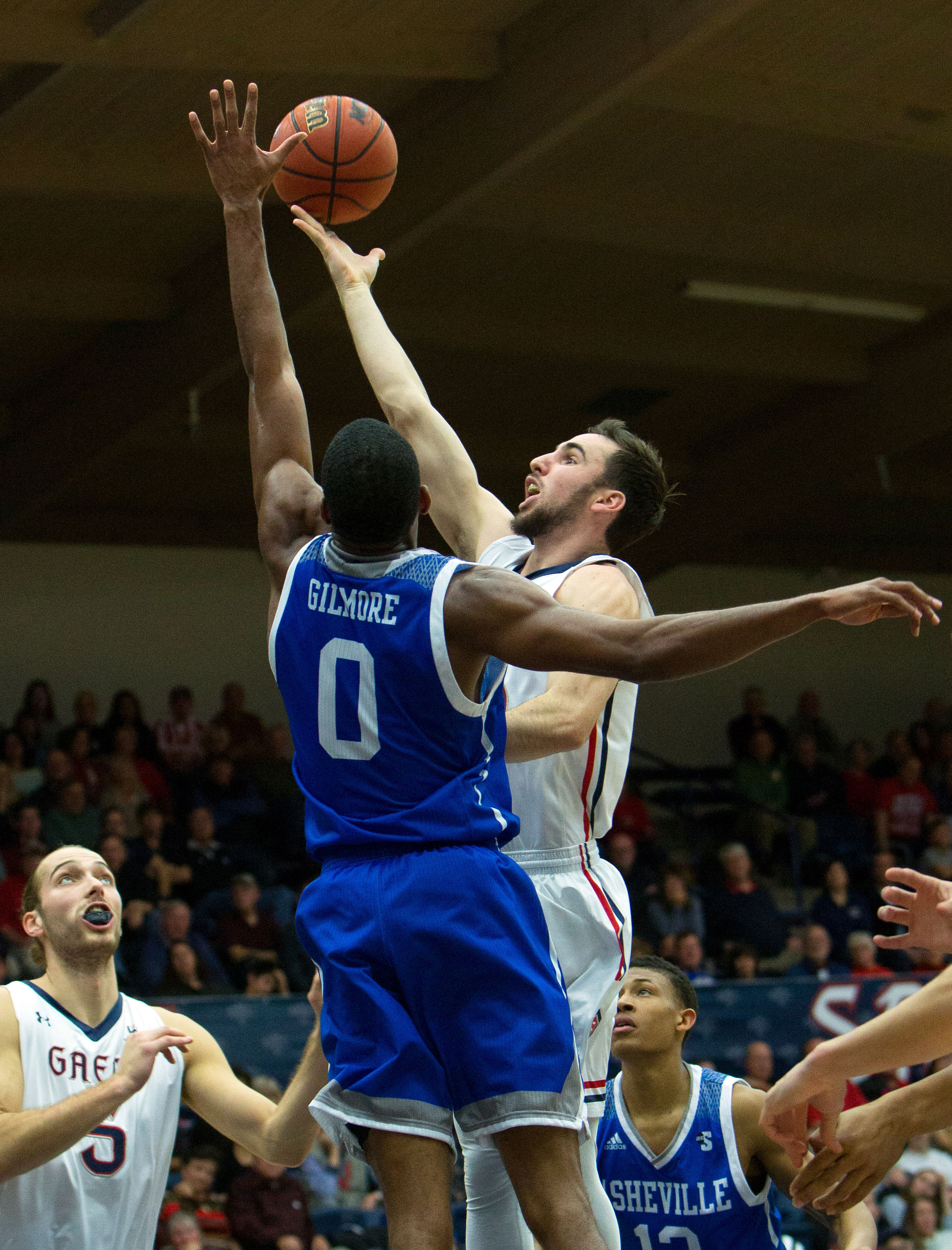NCAA Basketball: NC-Asheville at St. Mary's
