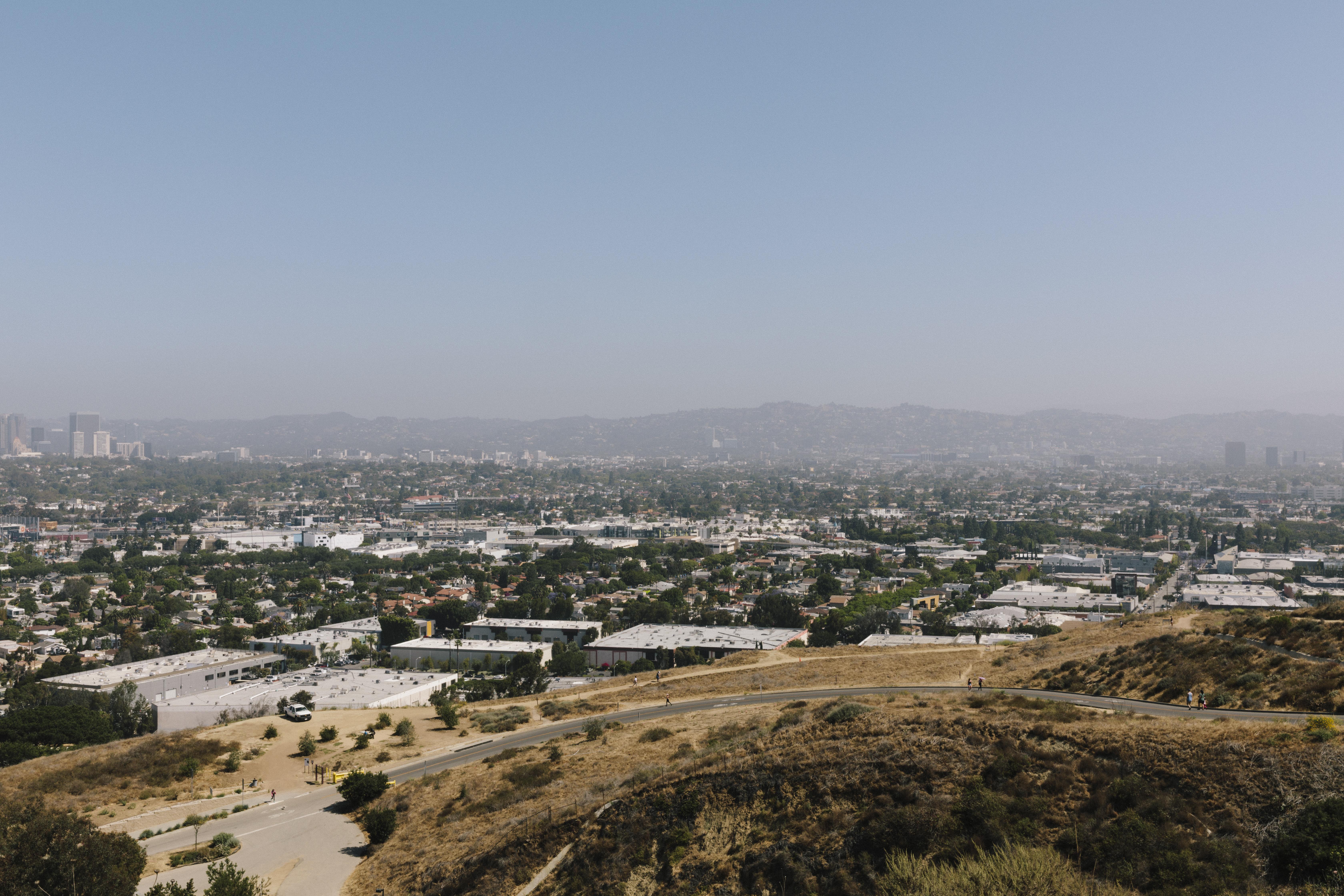 View into San Fernando Valley
