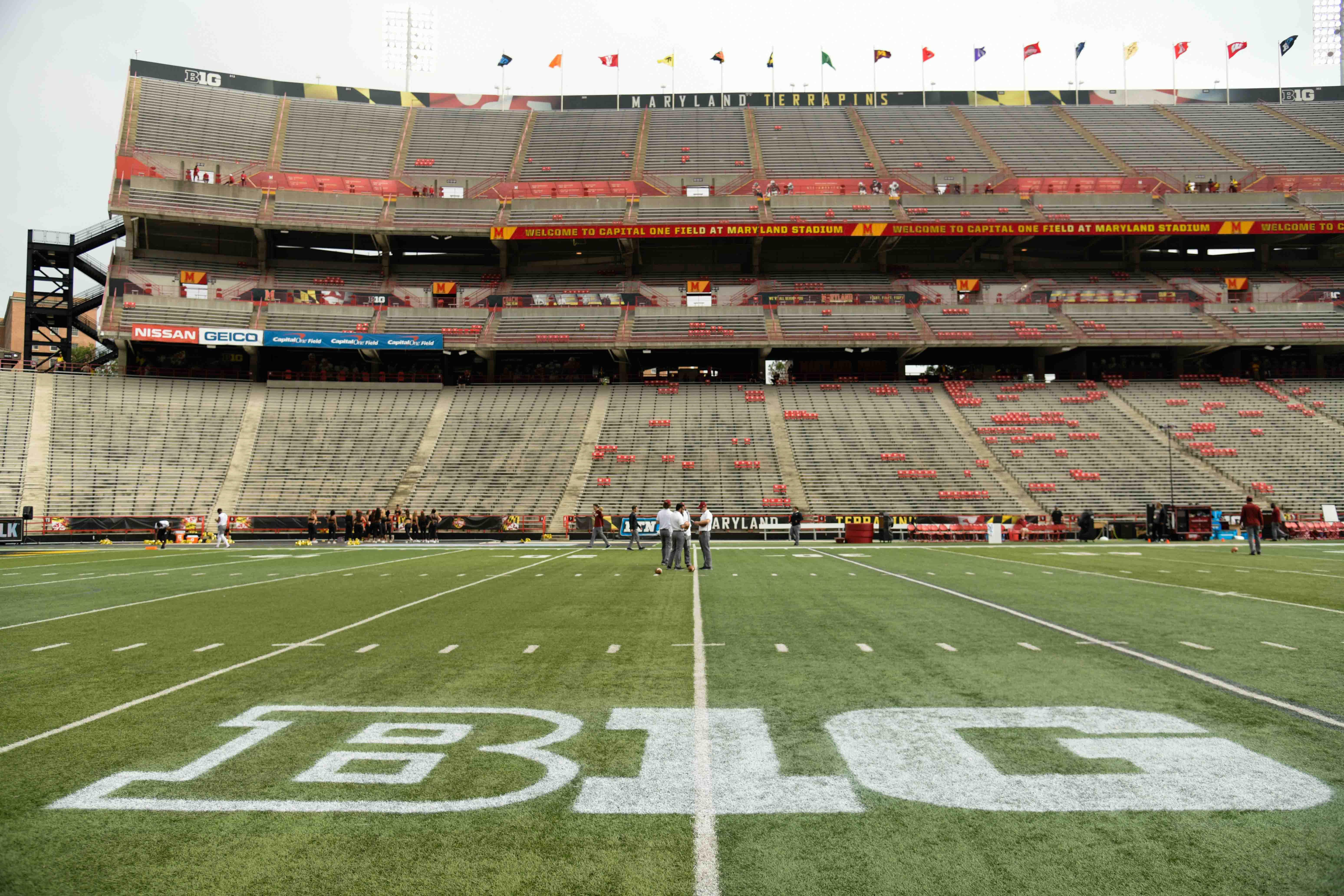 NCAA Football: Temple at Maryland