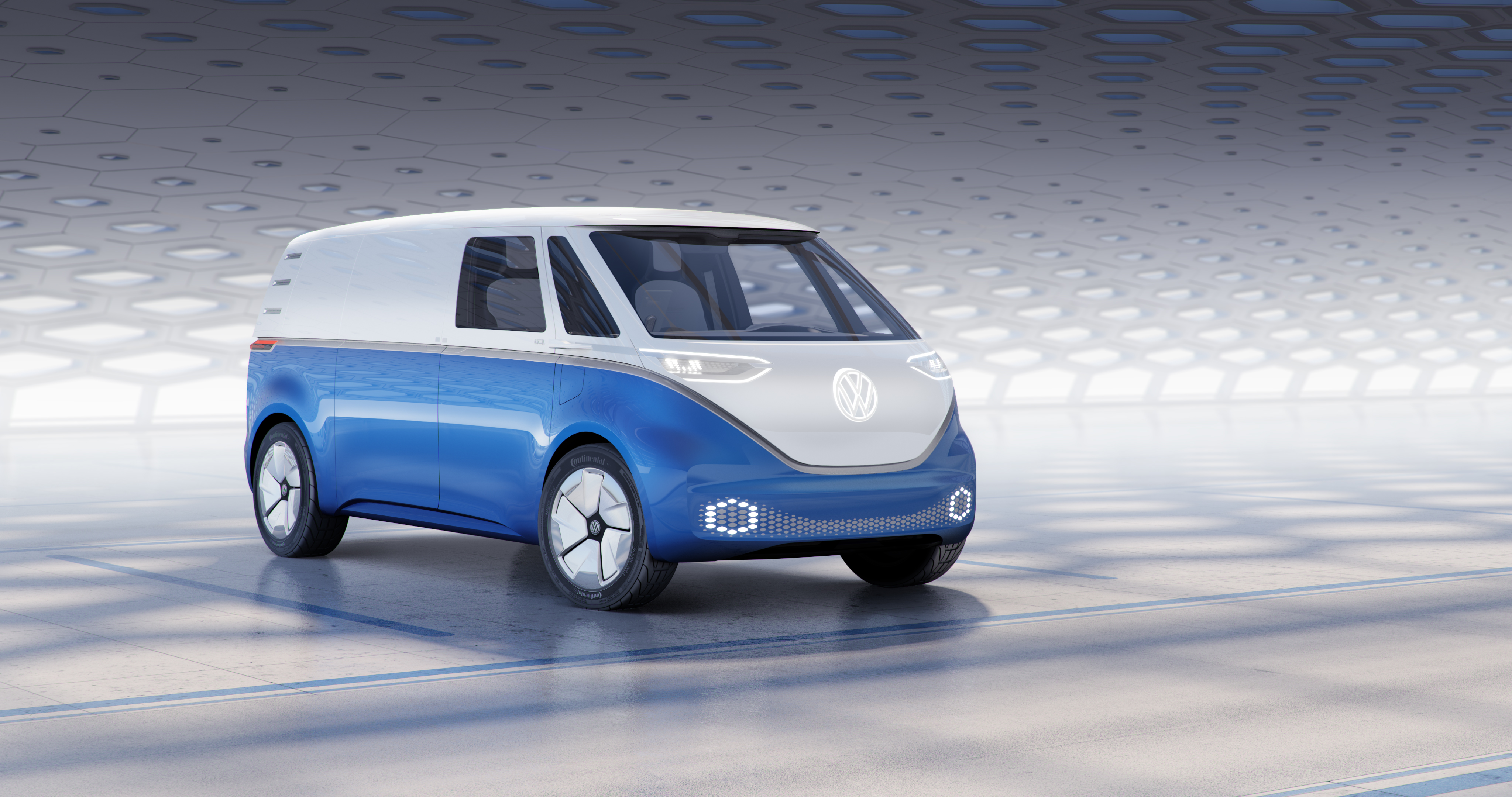 Vws Id Buzz Cargo Is An Electric Delivery Van With A Hint Of