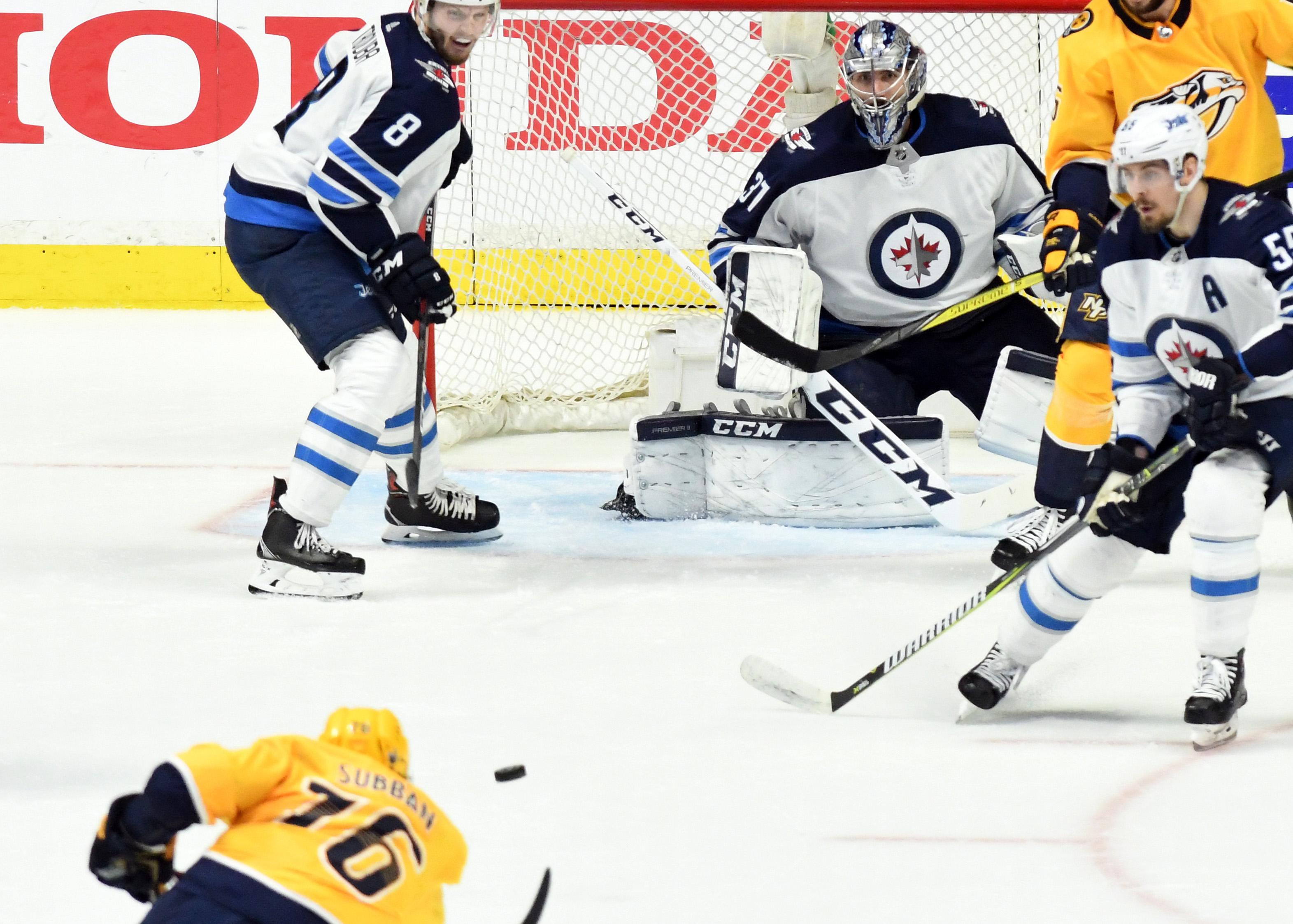 NHL: Stanley Cup Playoffs-Winnipeg Jets at Nashville Predators