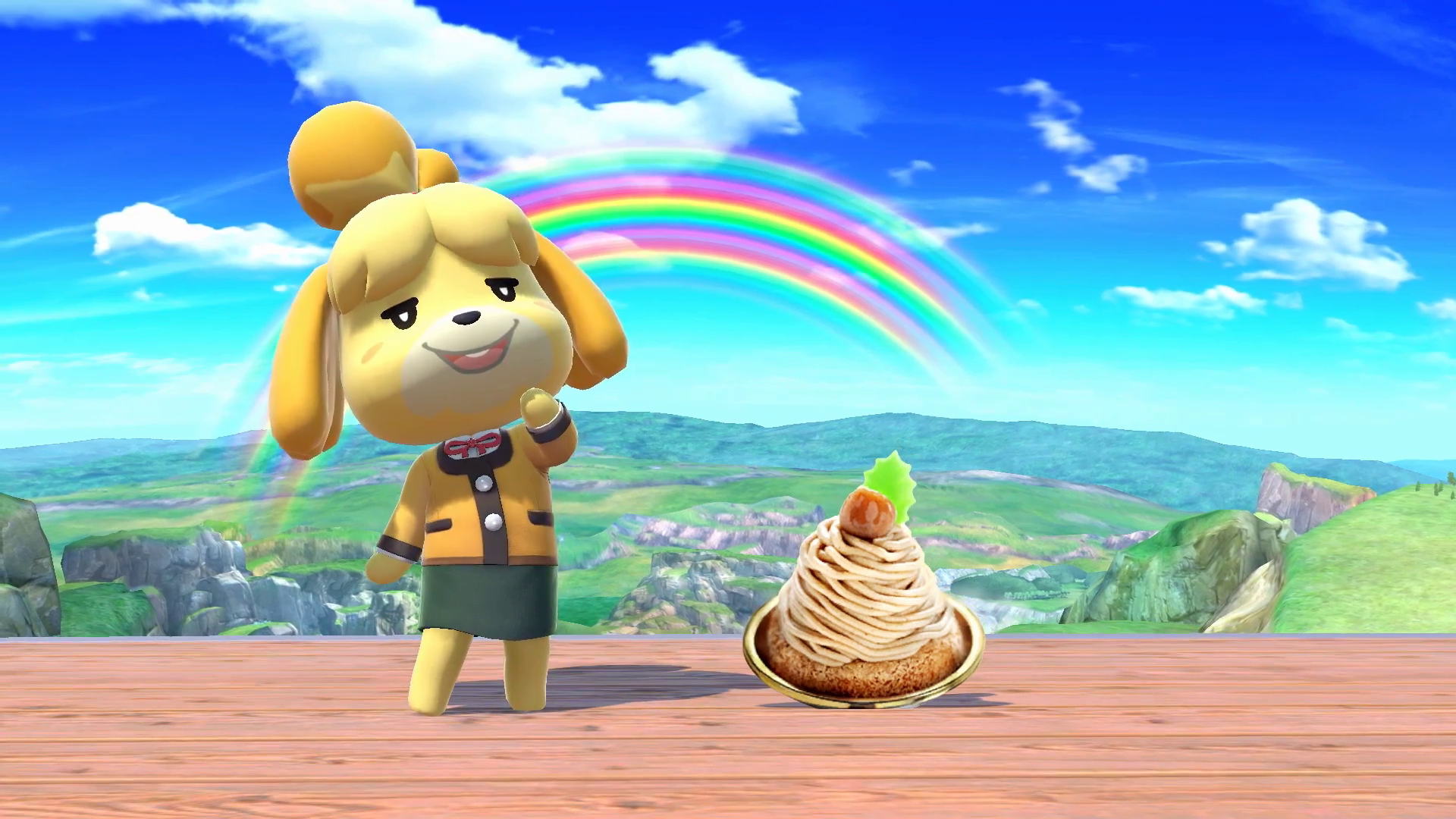 Super Smash Bros. Ultimate - Isabelle from Animal Crossing