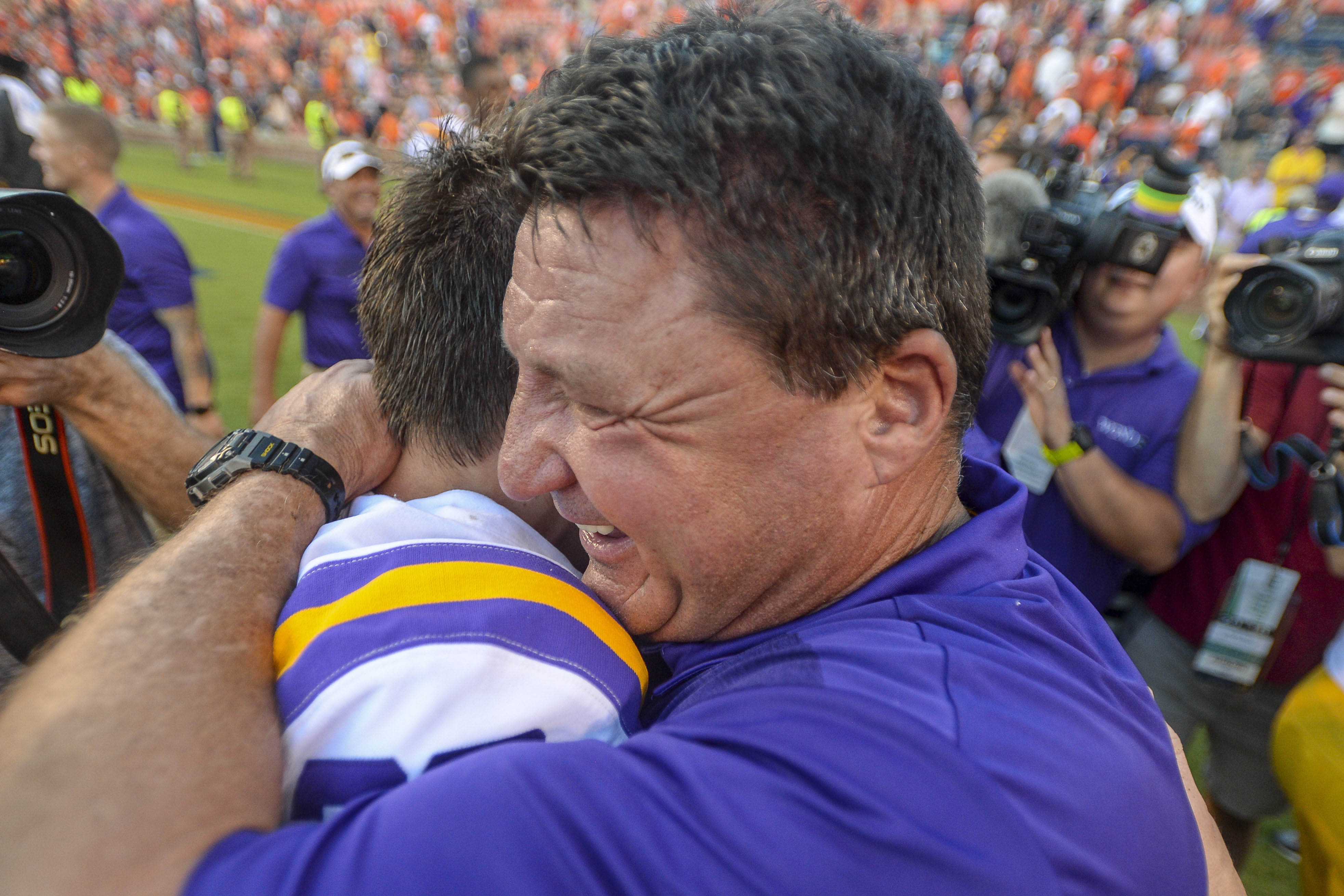And The Valley Shook, a LSU Tigers community