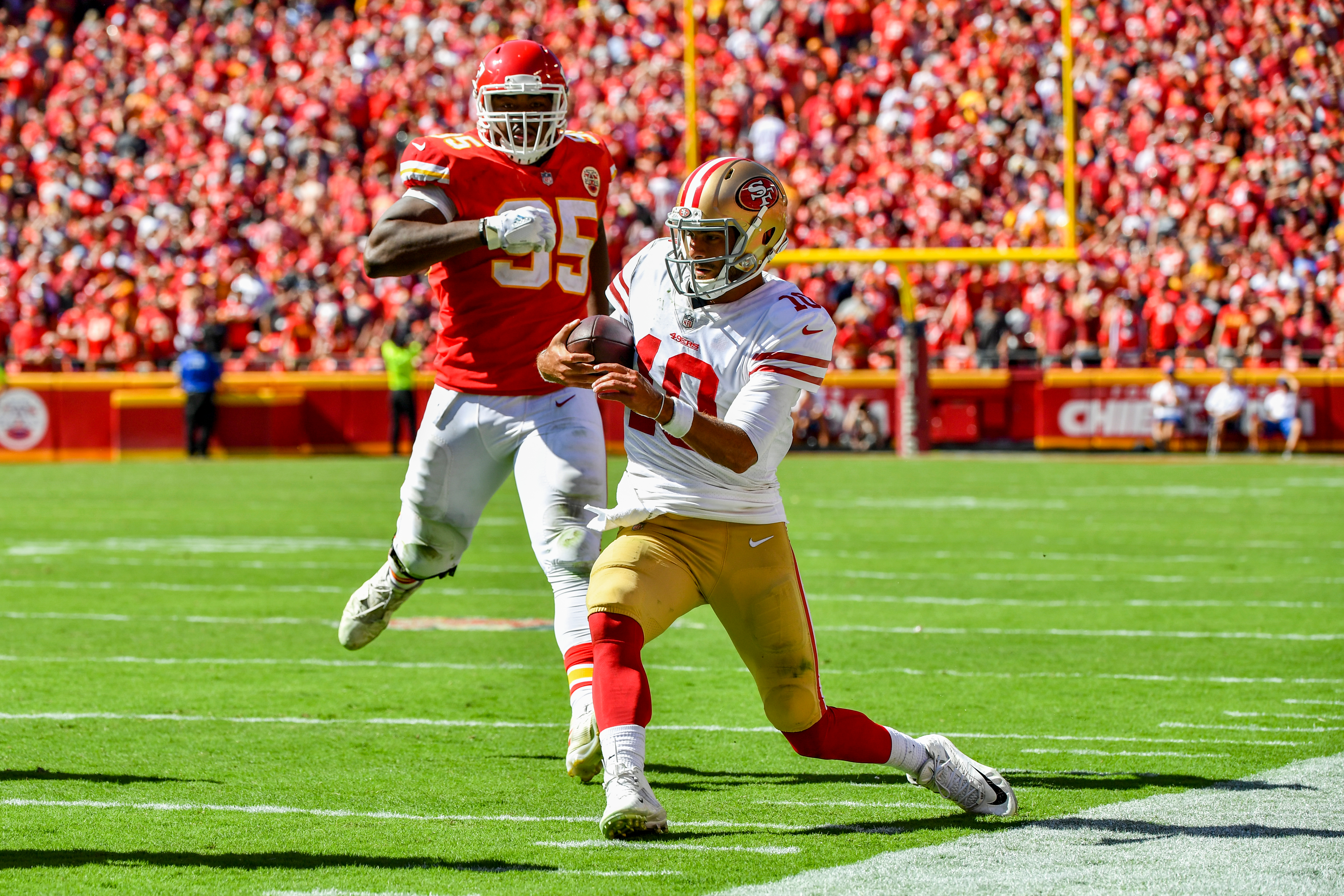 a92e12c2a 49ers-Chiefs recap  Top highlights (and lowlights) from San Francisco s  brutal loss in Kansas City - Niners Nation