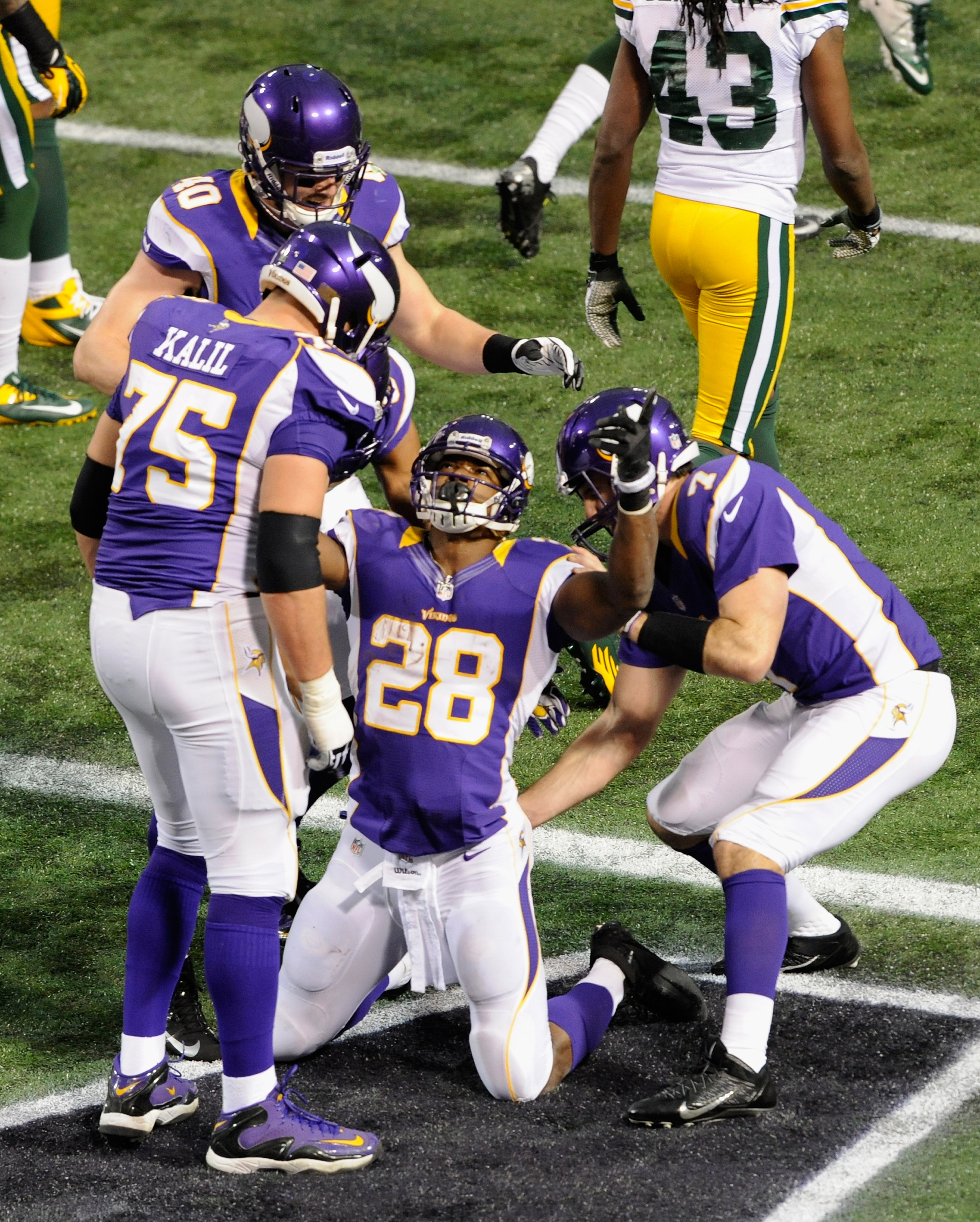 Things are looking up for the Vikings in 2013.