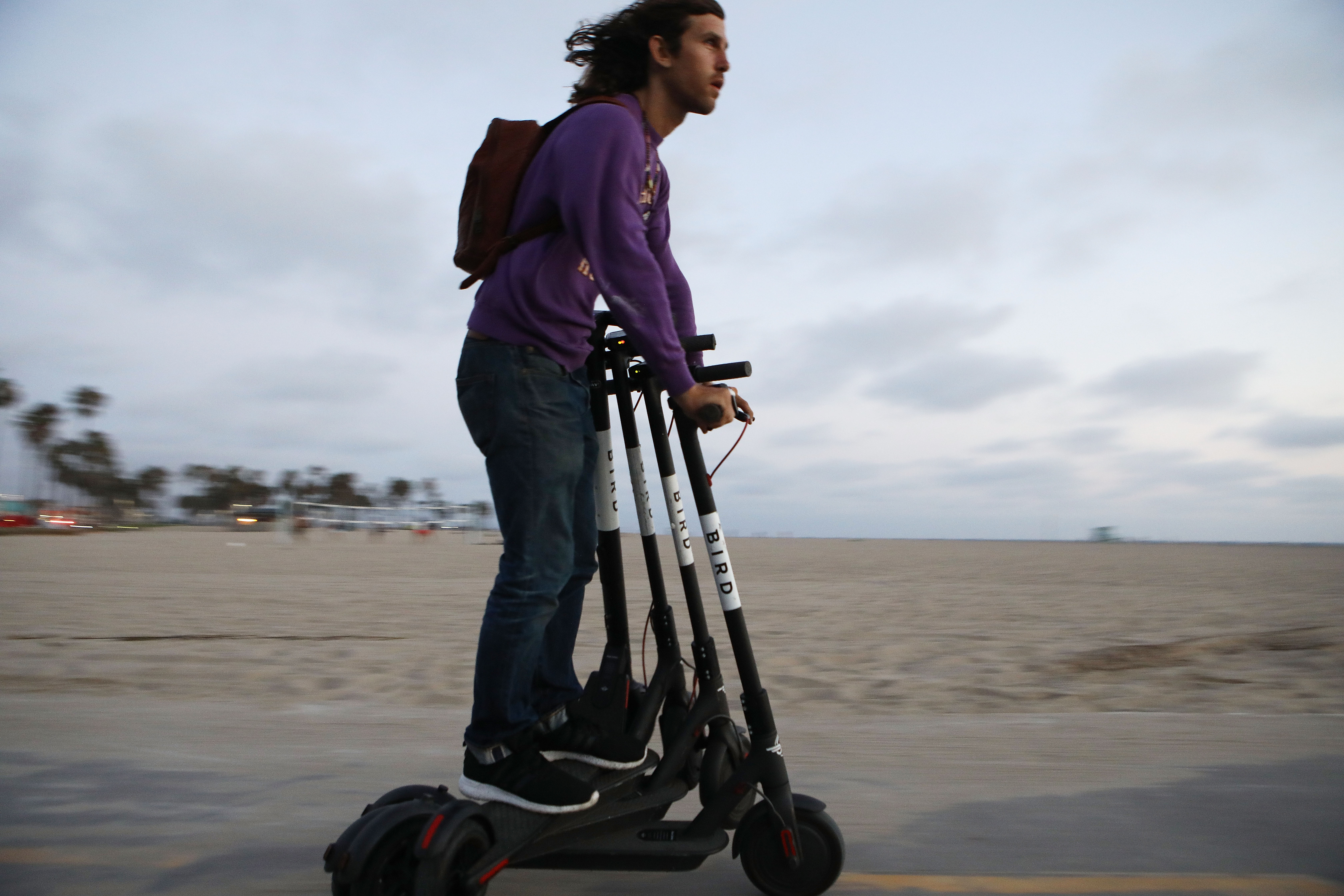 Bird's electric scooters are getting more rugged to handle