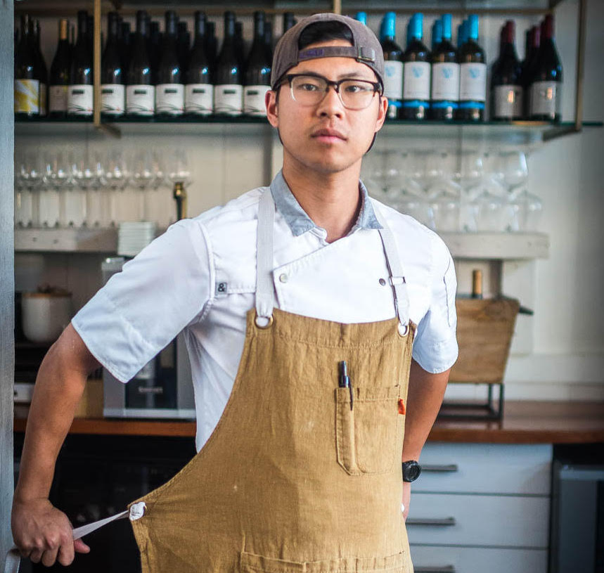 Himitsu co-founder and chef Kevin Tien