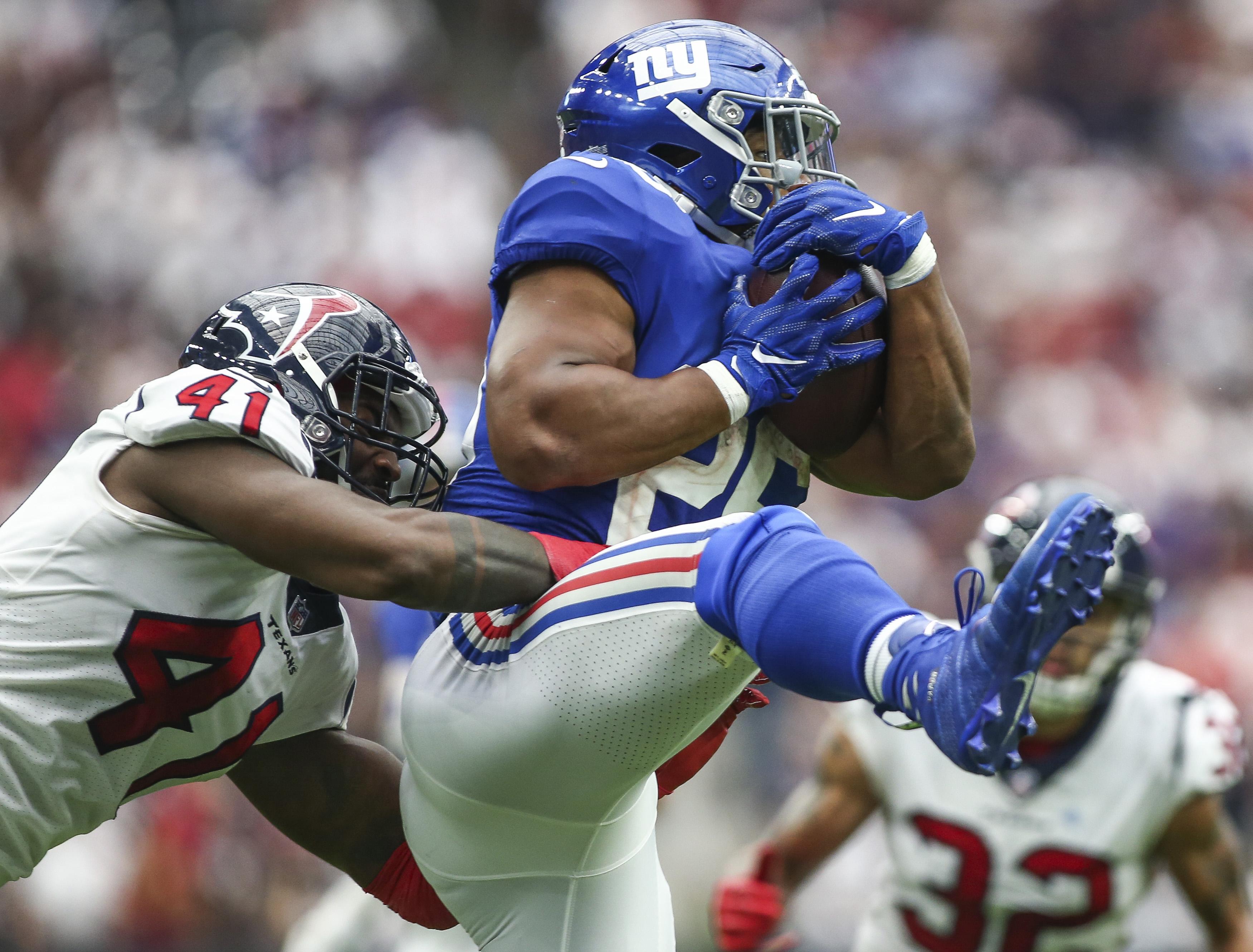 NFL: New York Giants at Houston Texans