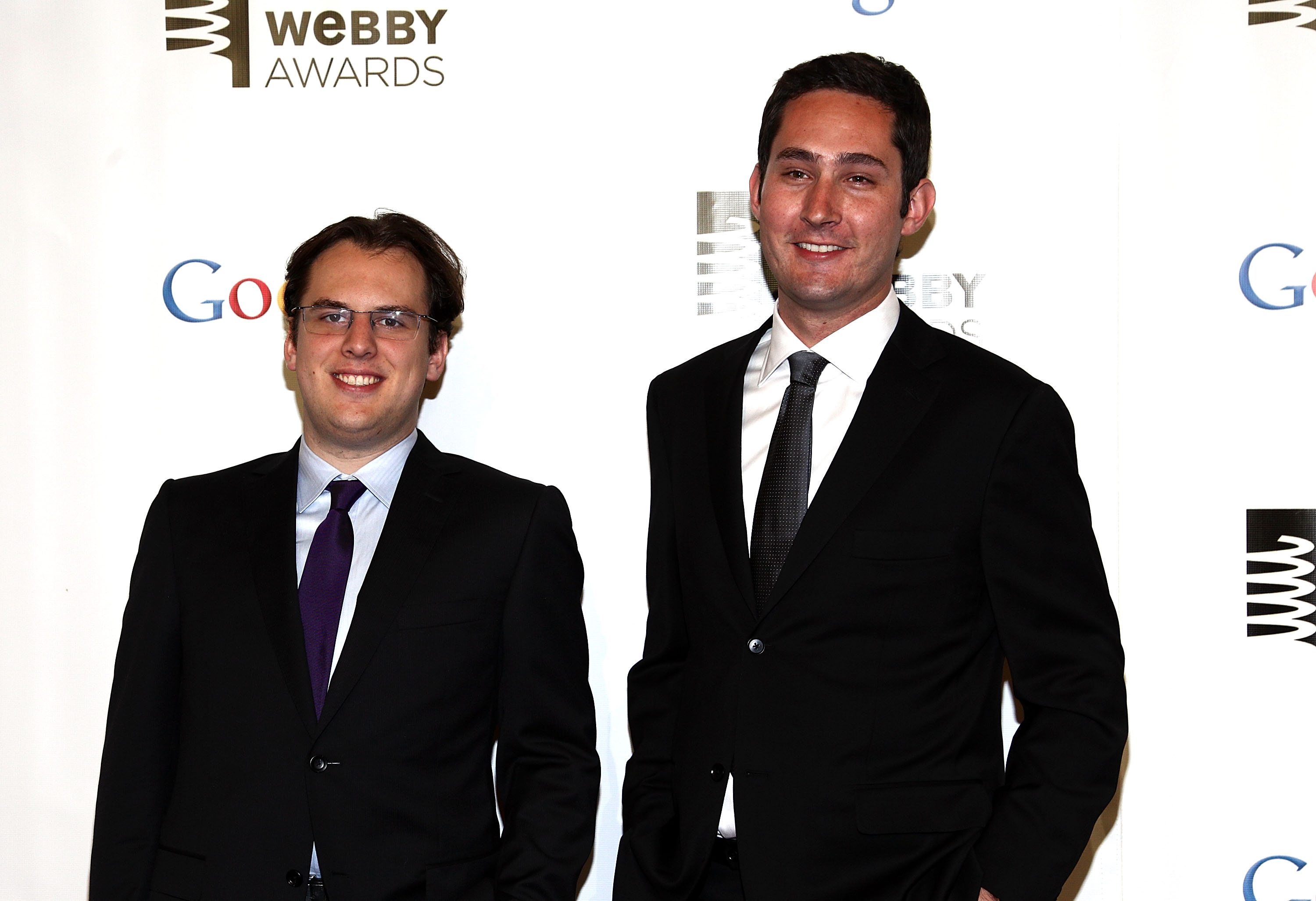 Instagram co-founders Mike Krieger and Kevin Systrom