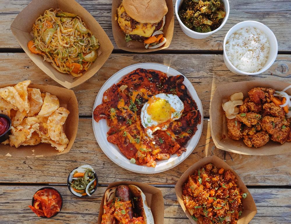 Kimchi Jon's food