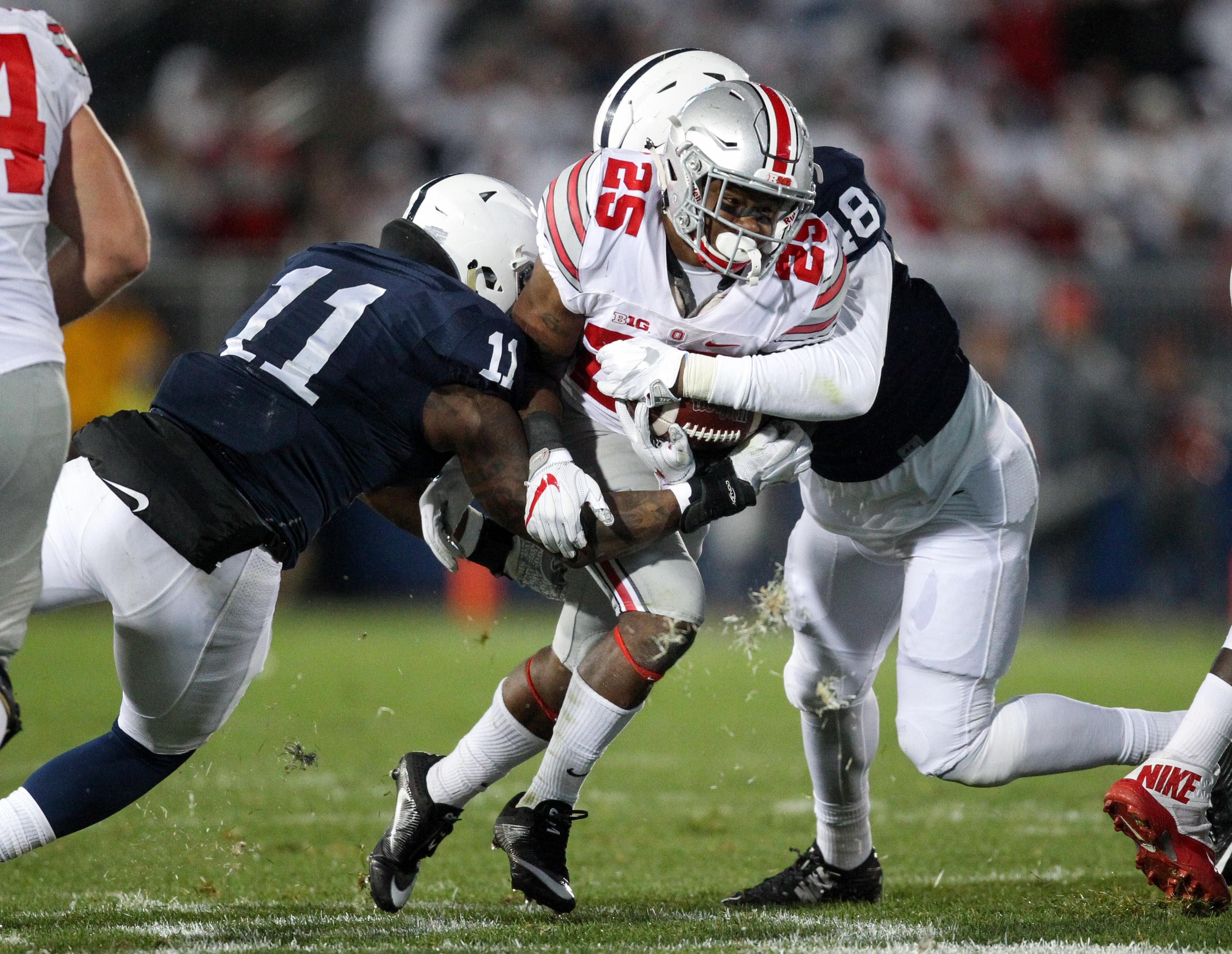 Ohio State and Penn State have now played 3 straight instant classics