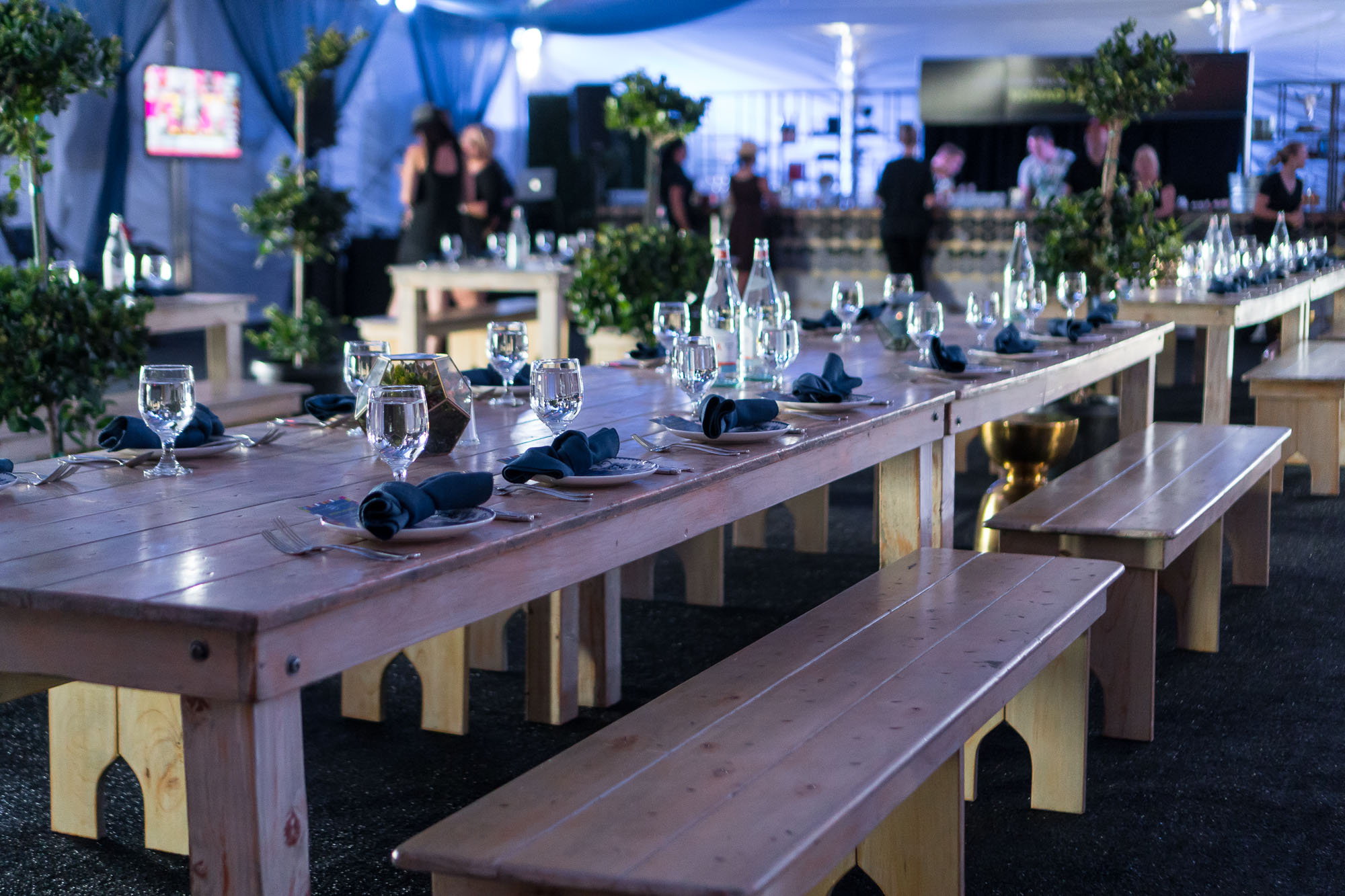 NoMad Restaurant's Backstage Brunch at Artist Hospitality Lounge during Life Is Beautiful