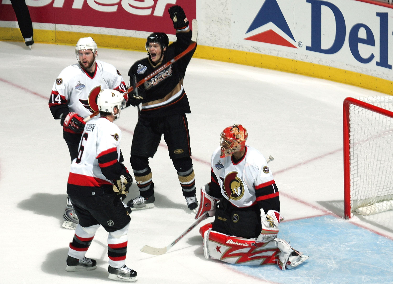 Game 1 - Ottawa Senators v Anaheim Ducks