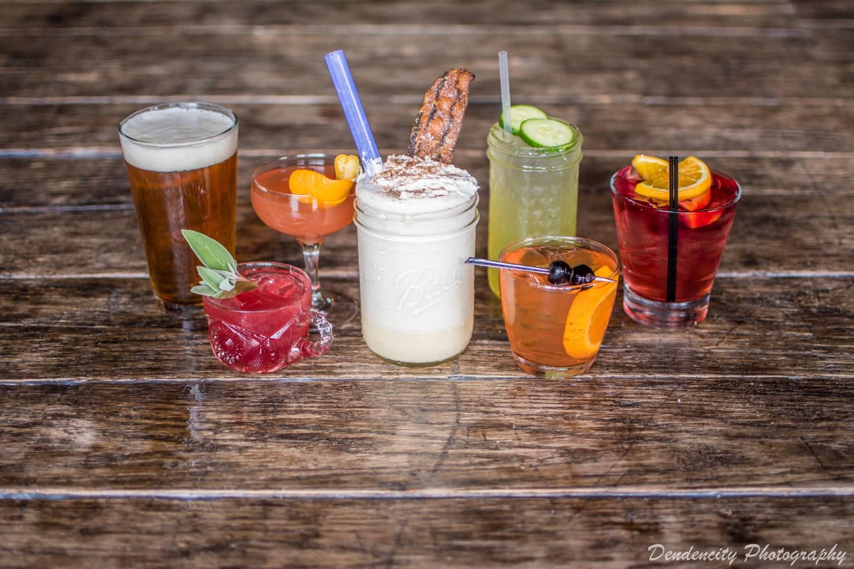 Punch Bowl Social cocktails