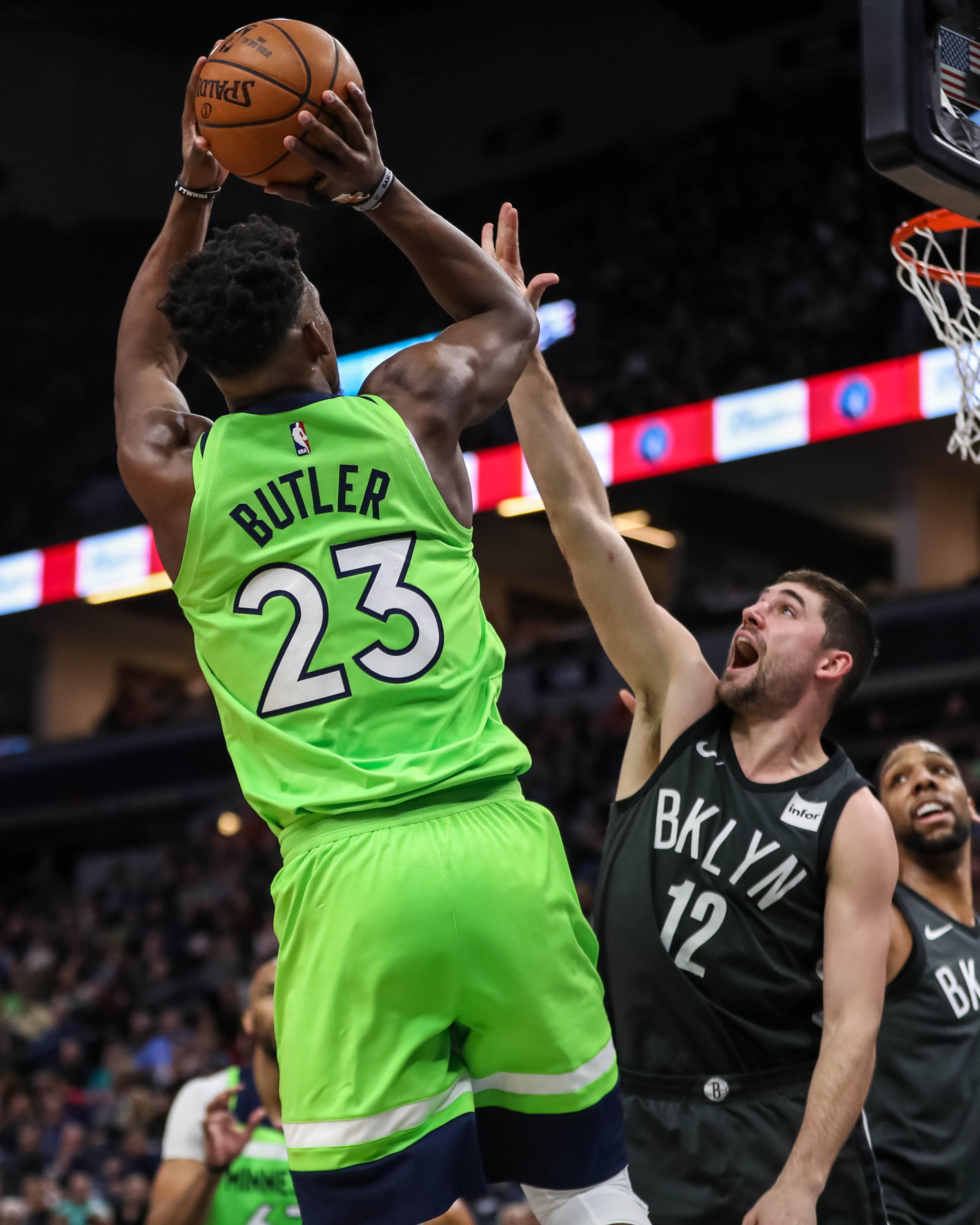 NBA: Brooklyn Nets at Minnesota Timberwolves