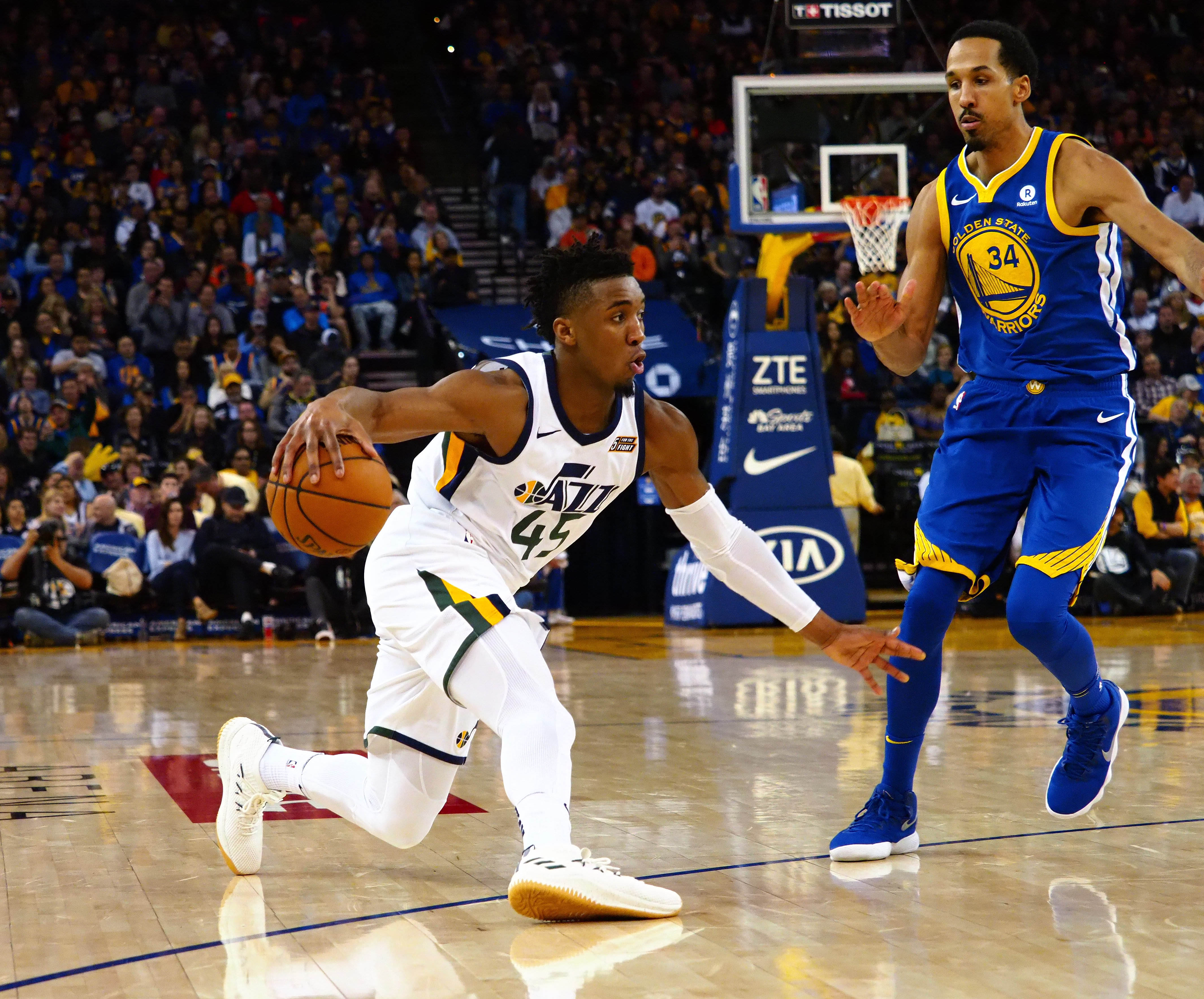 official photos 50d7f 4d082 Donovan Mitchell doesn't care for your superteam - SLC Dunk