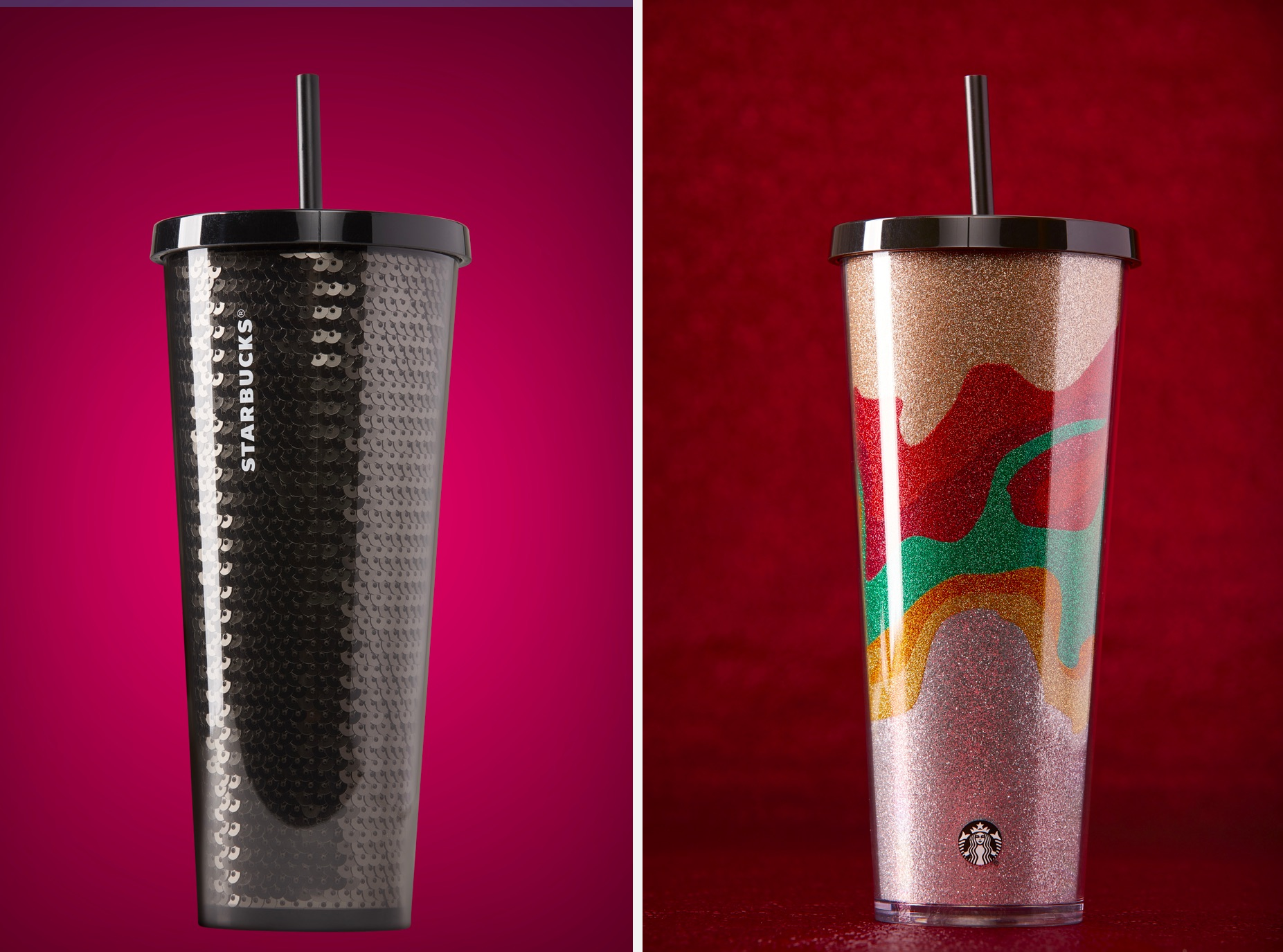 Starbucks New Reusable Holiday Cups Don't Exactly Scream 'Holiday'