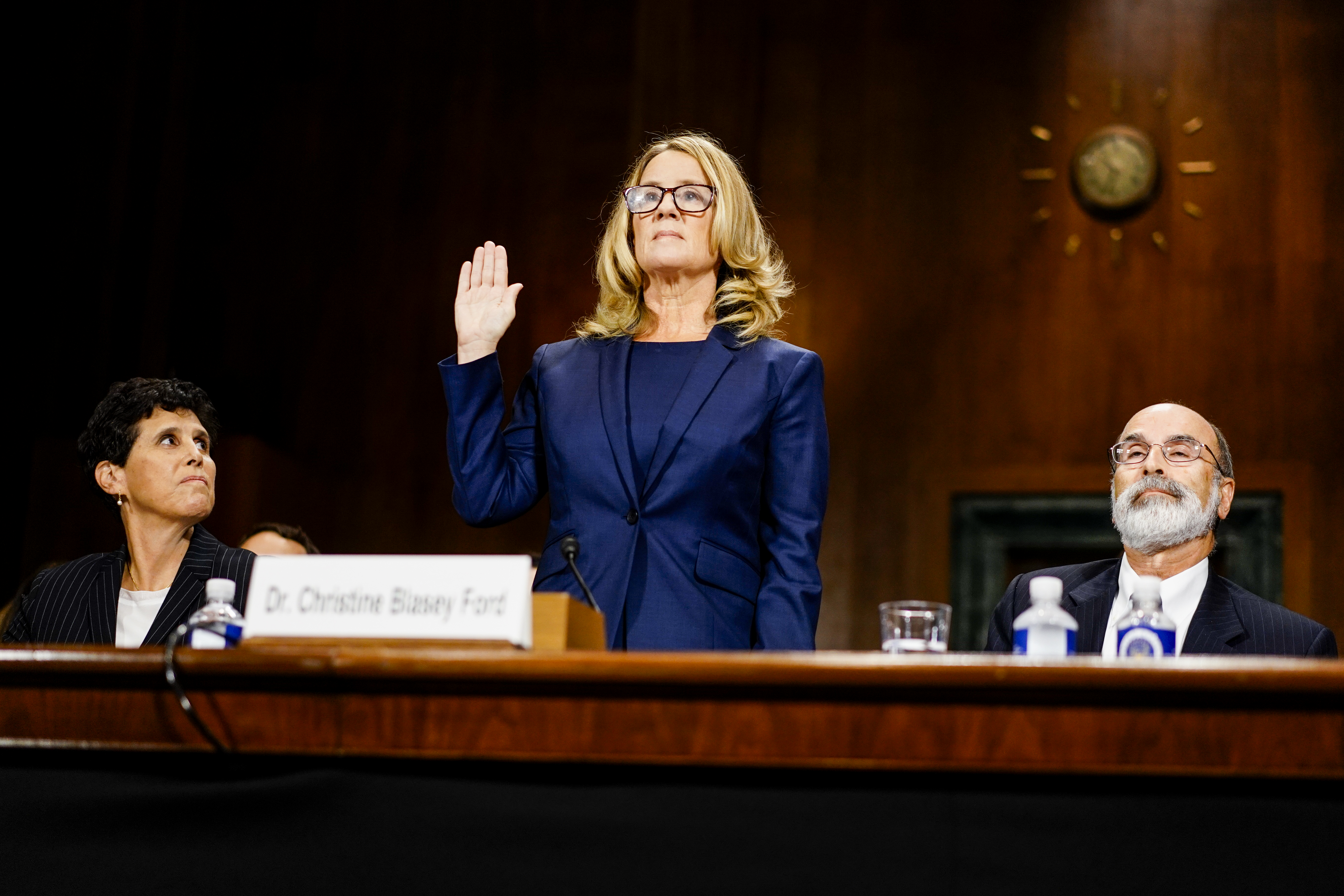 A Republican senator unwittingly exposed the double standard facing Christine Blasey Ford