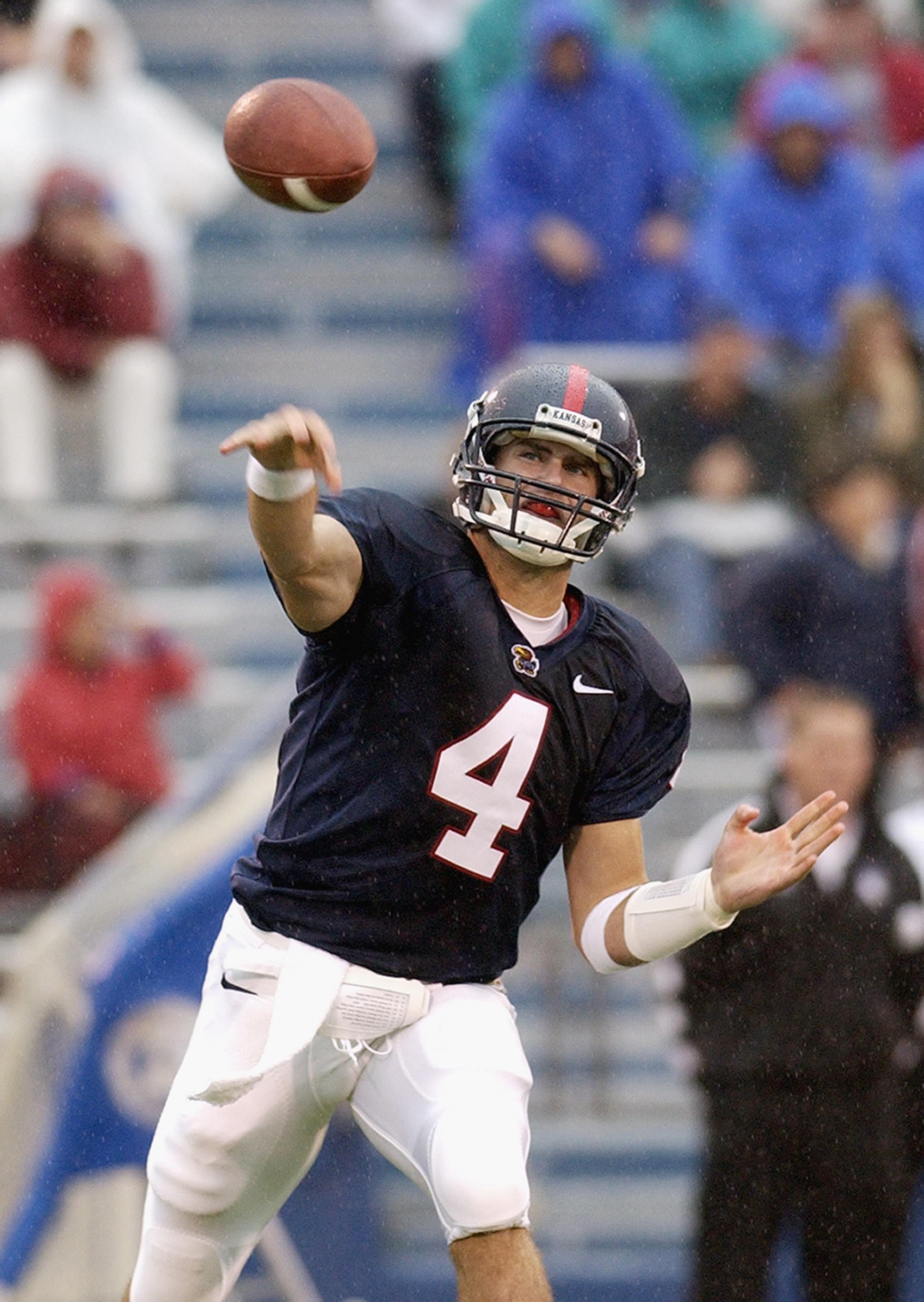 Bill Whittemore passes the ball