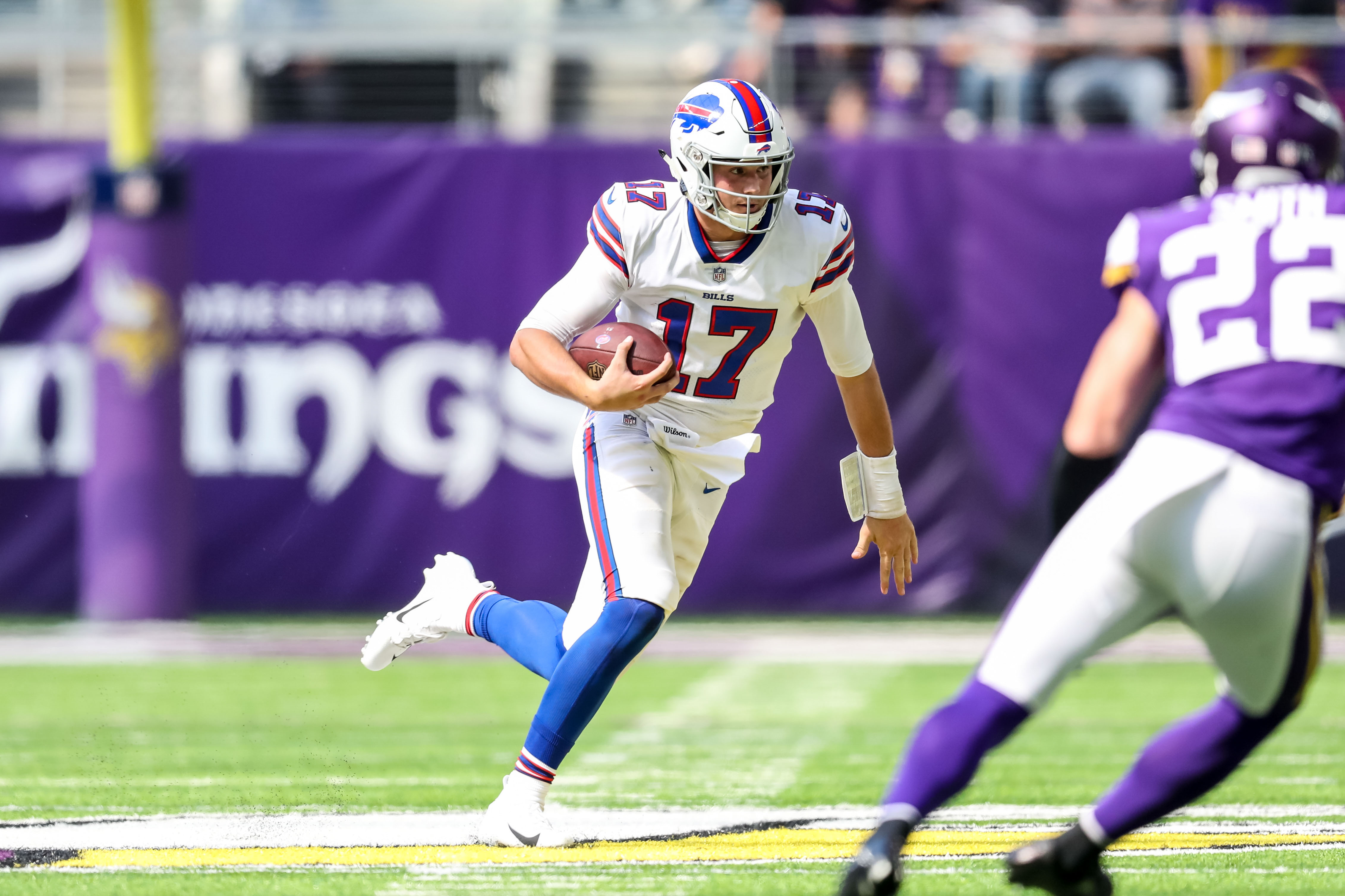 NFL: Buffalo Bills at Minnesota Vikings