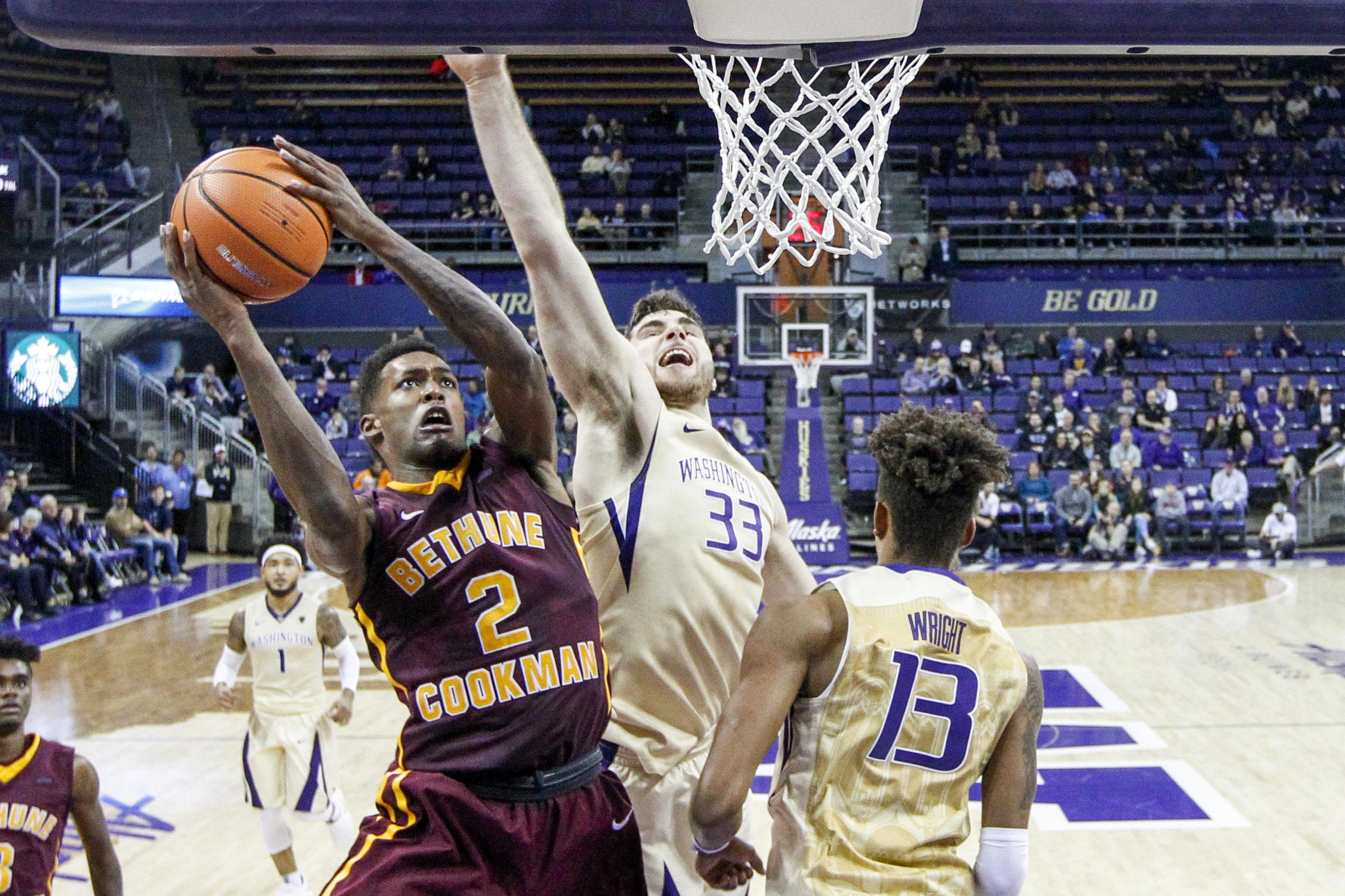 NCAA Basketball: Bethune-Cookman at Washington