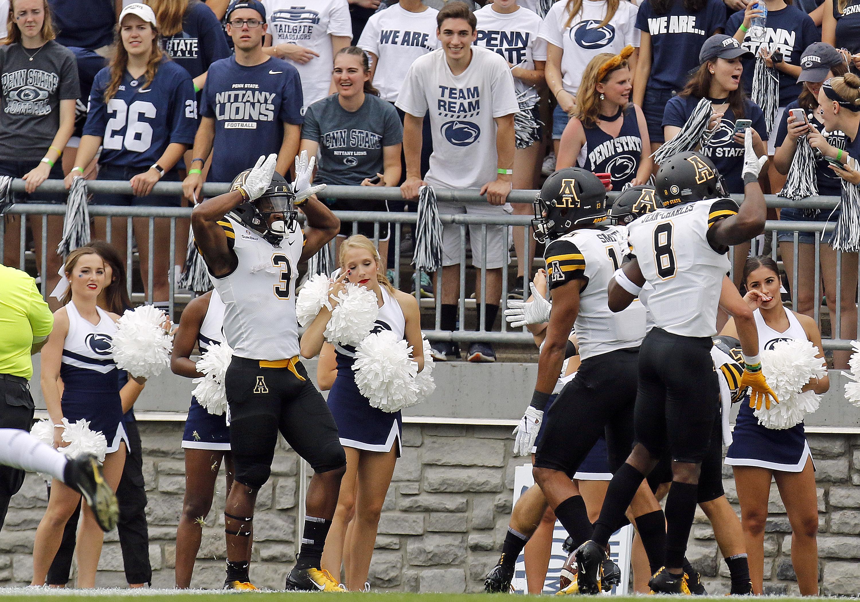 Appalachian State v Penn State
