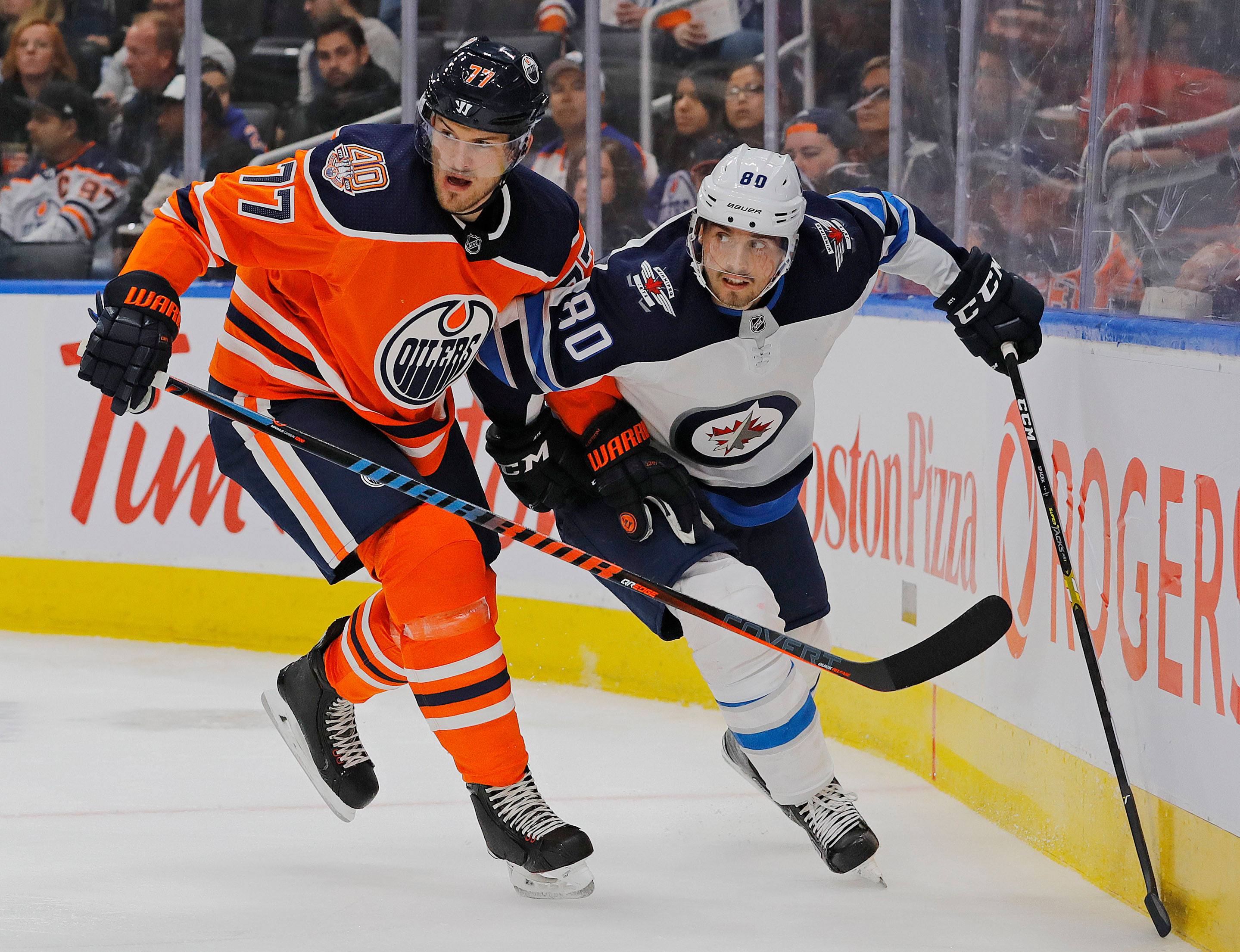 NHL: Preseason-Winnipeg Jets at Edmonton Oilers
