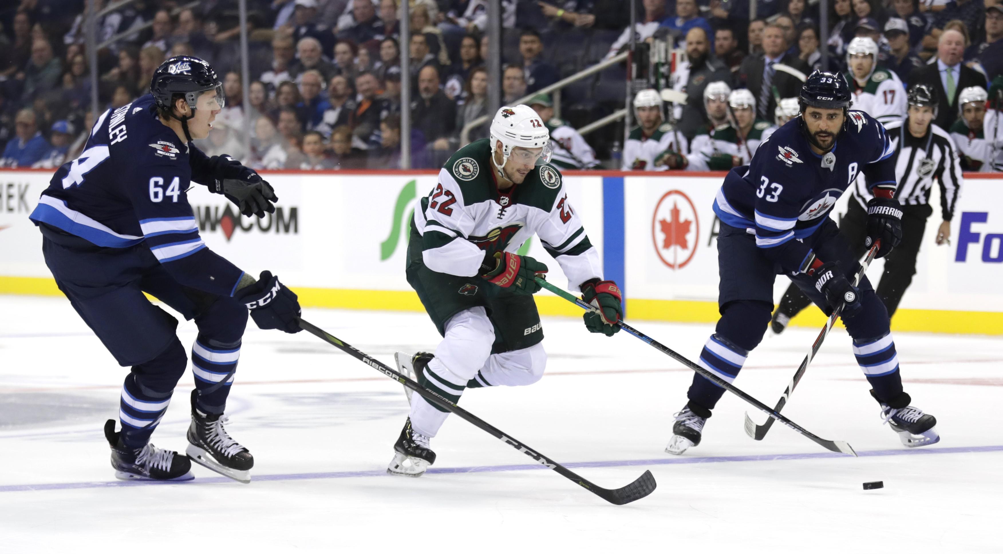 NHL: Preseason-Minnesota Wild at Winnipeg Jets