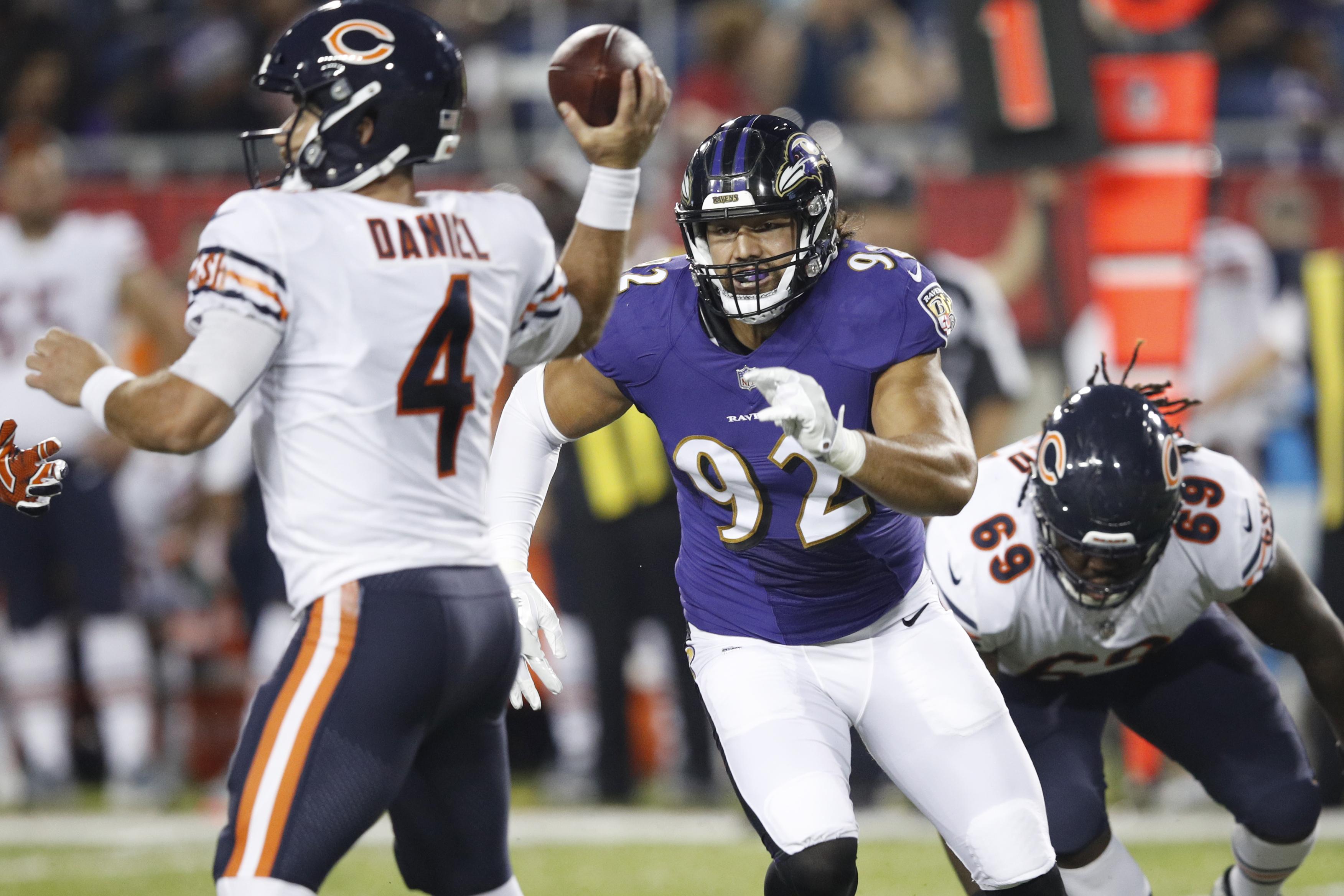 Chicago Bears v Baltimore Ravens
