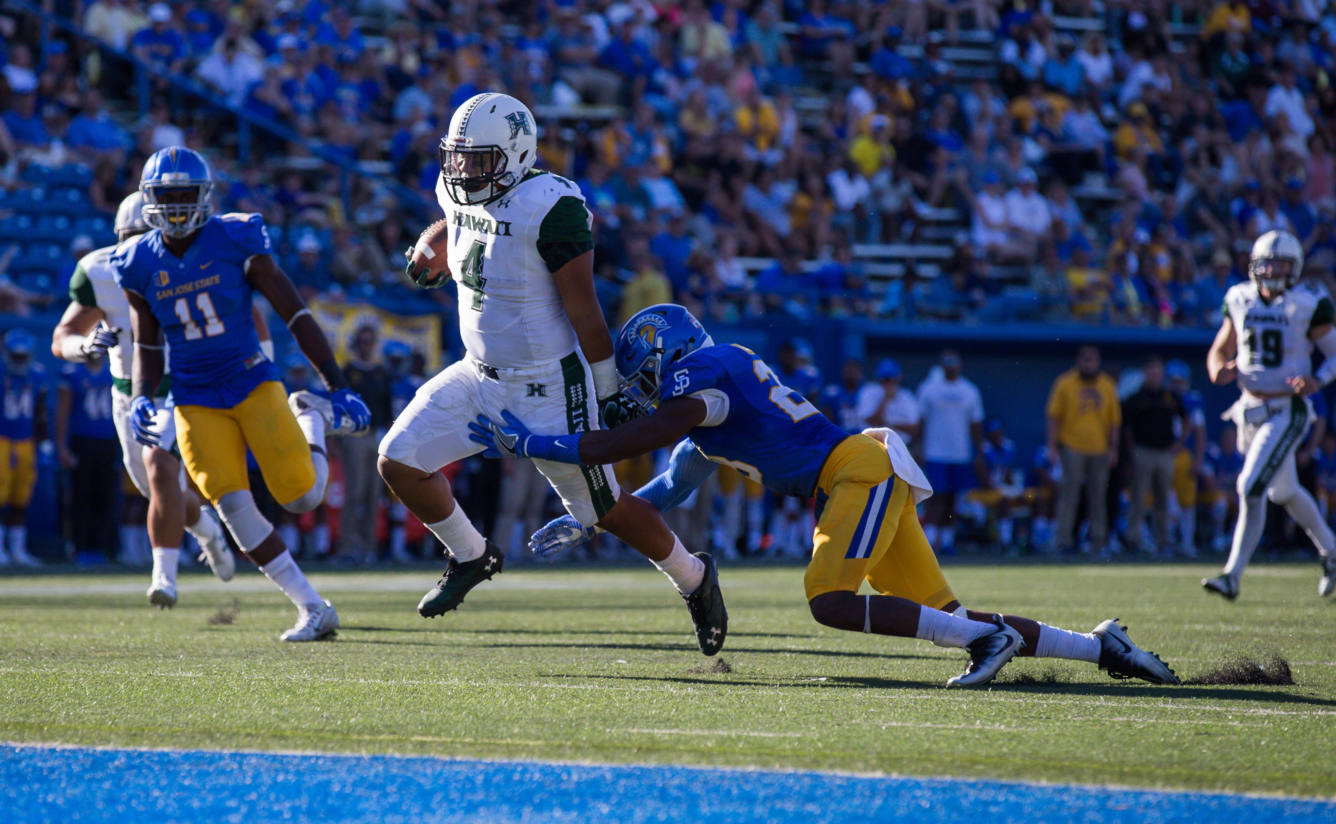 NCAA Football: Hawaii at San Jose State