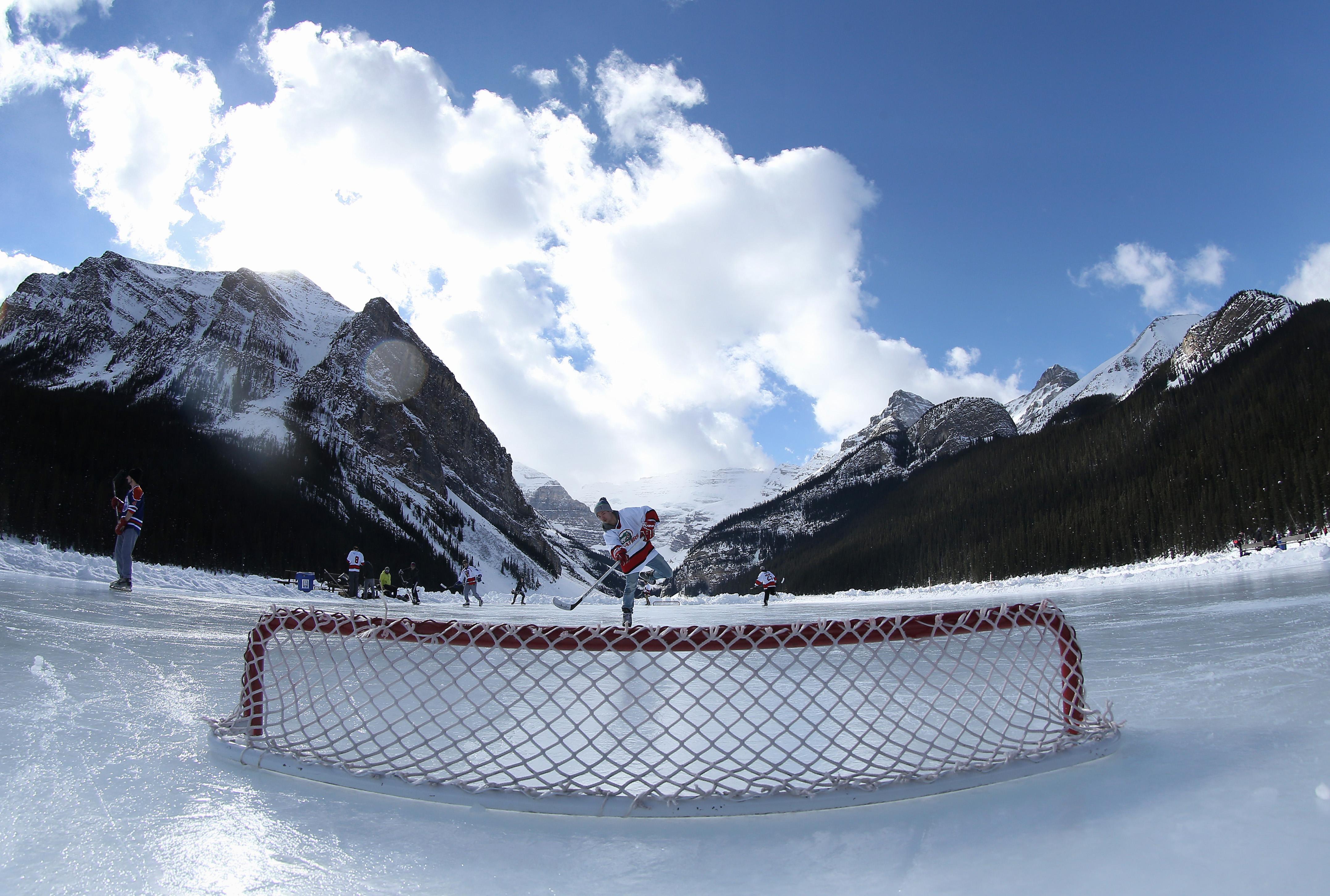 Lake Louise Pond Hockey Classic