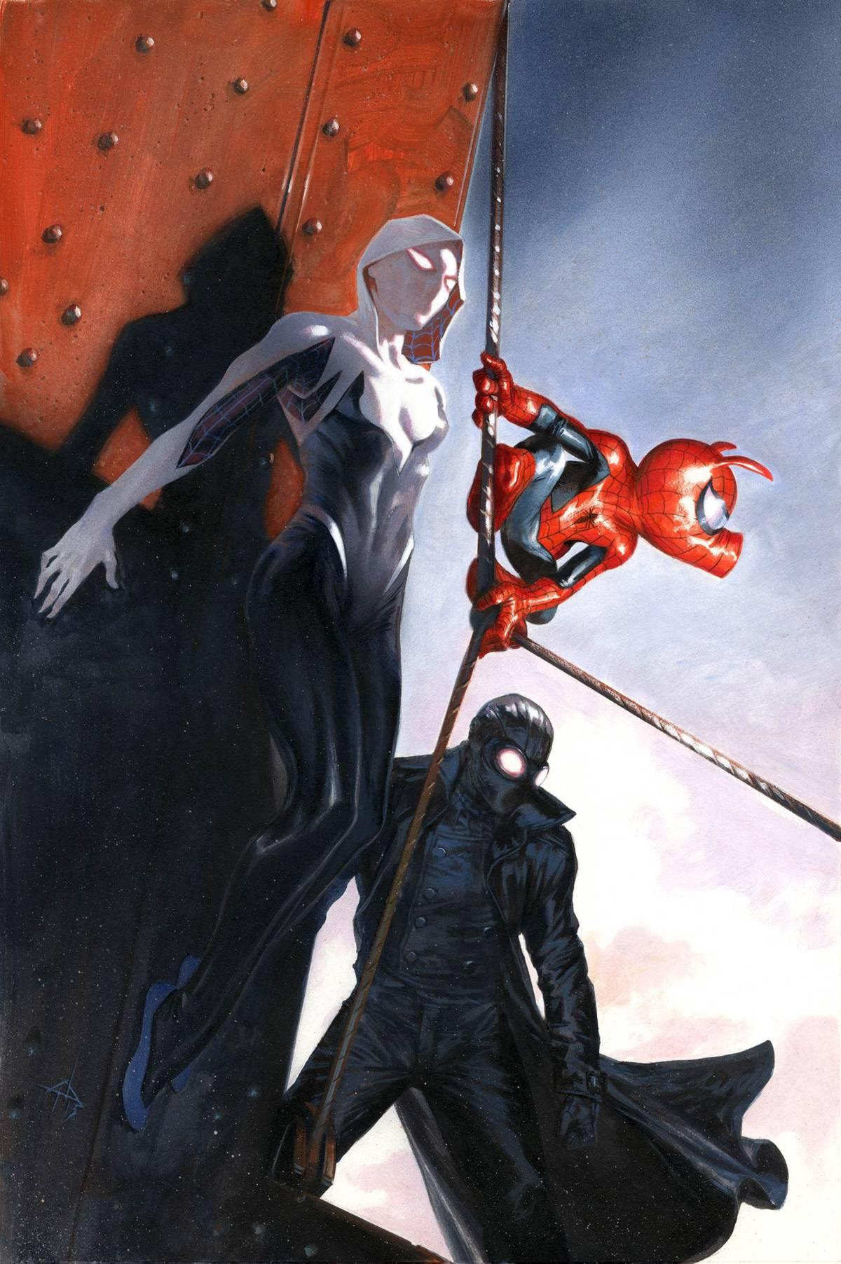 Web Warriors #2 variant cover, Marvel Comics (2015).