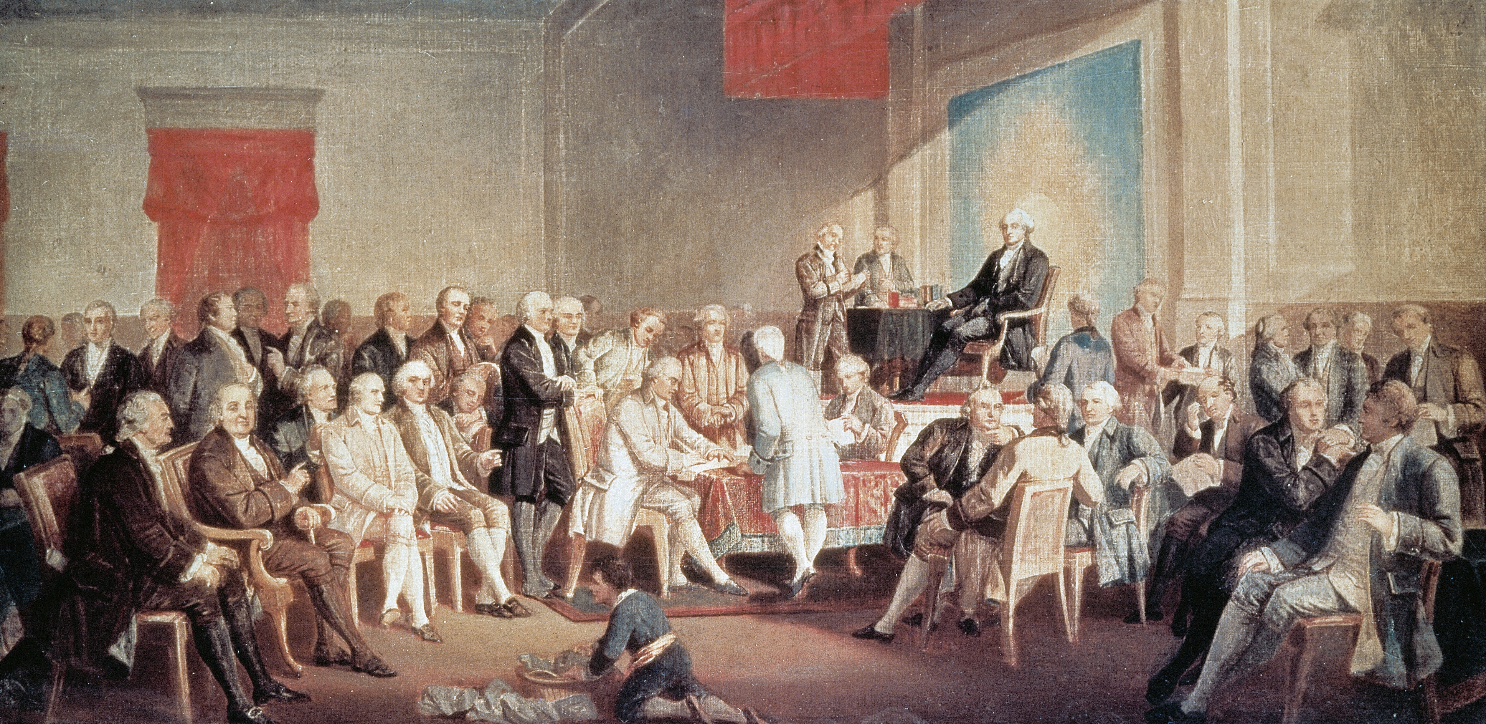 George Washington Constitution