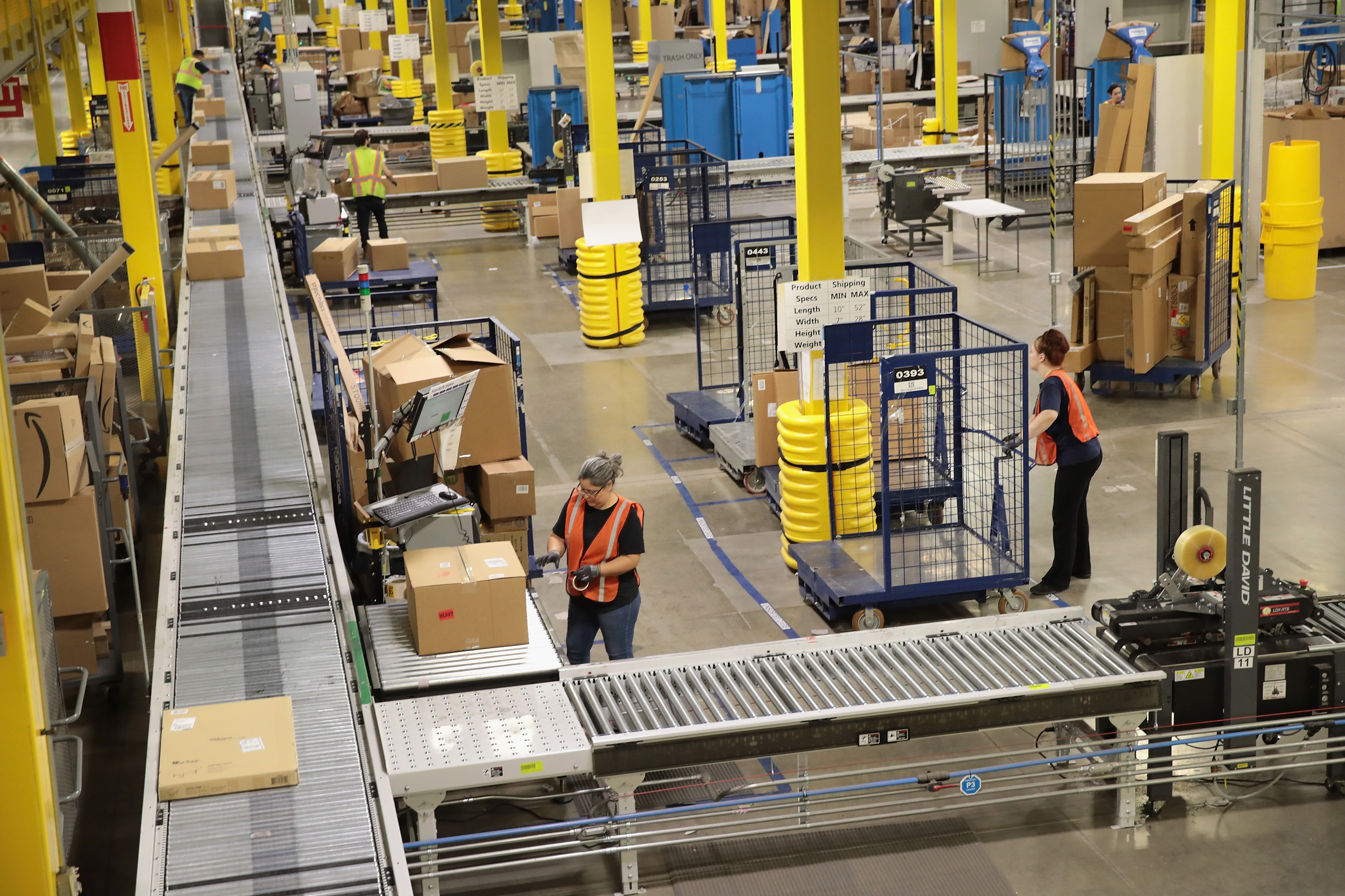 Amazon eliminates monthly bonuses and stock grants after