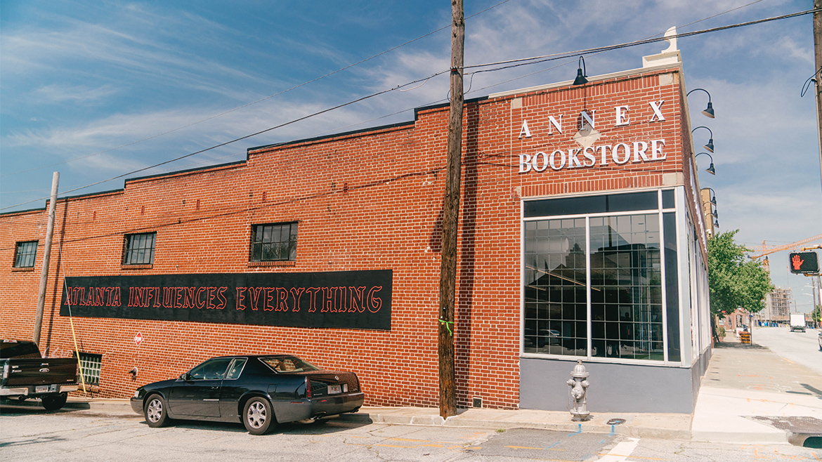 a picture of the renovated bookstore