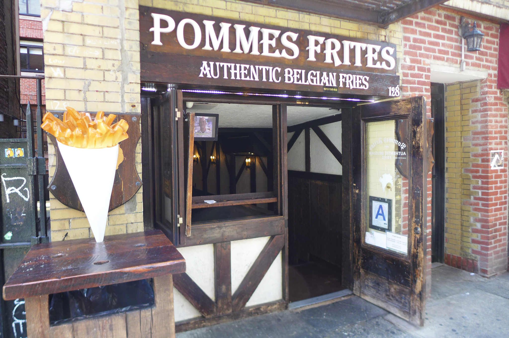 Perfect French Fries in Greenwich Village — and Other Cheap Eats
