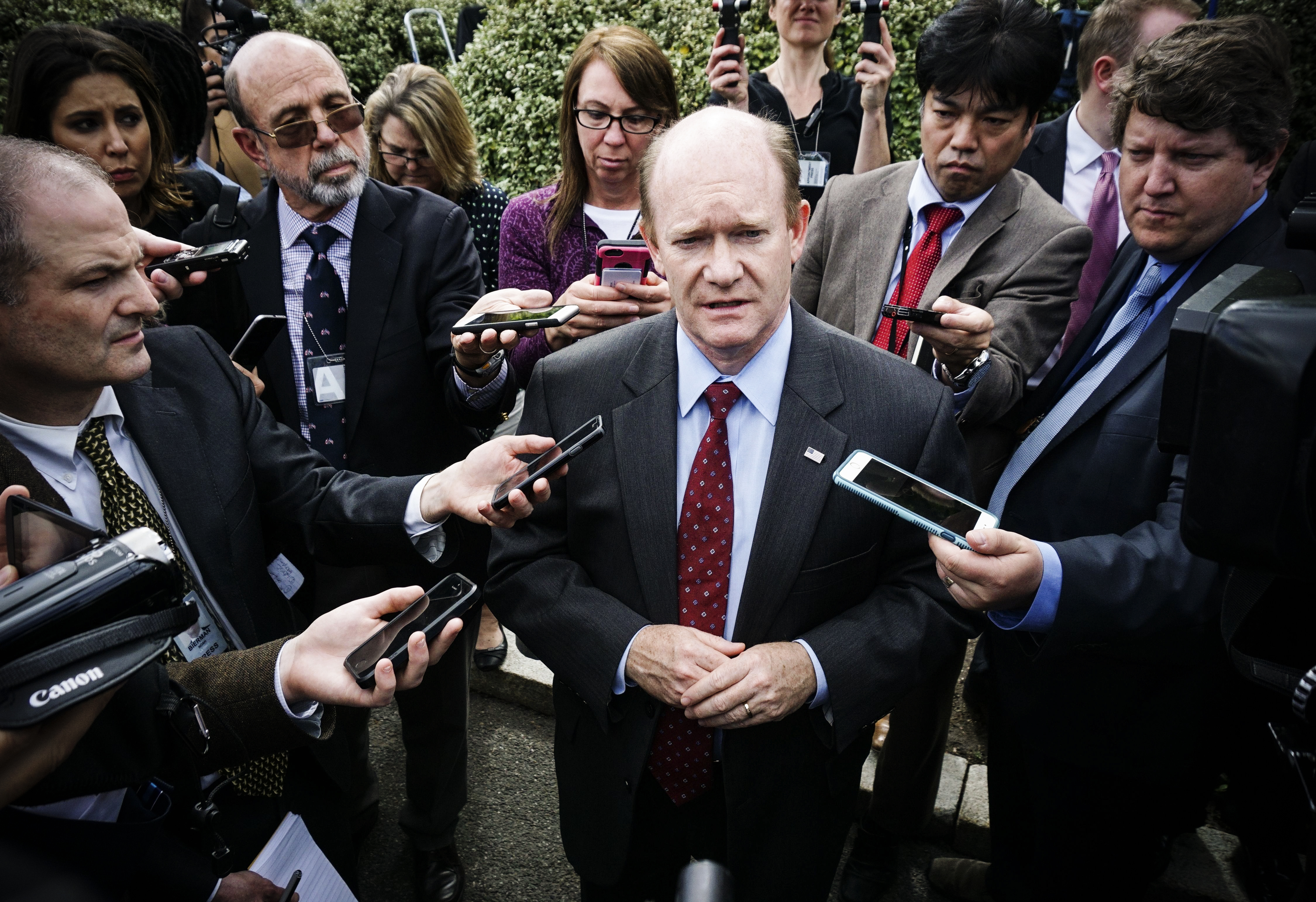 I Hope Democrats Get It Together Before >> Brett Kavanaugh Confirmation Chris Coons The Democrat With