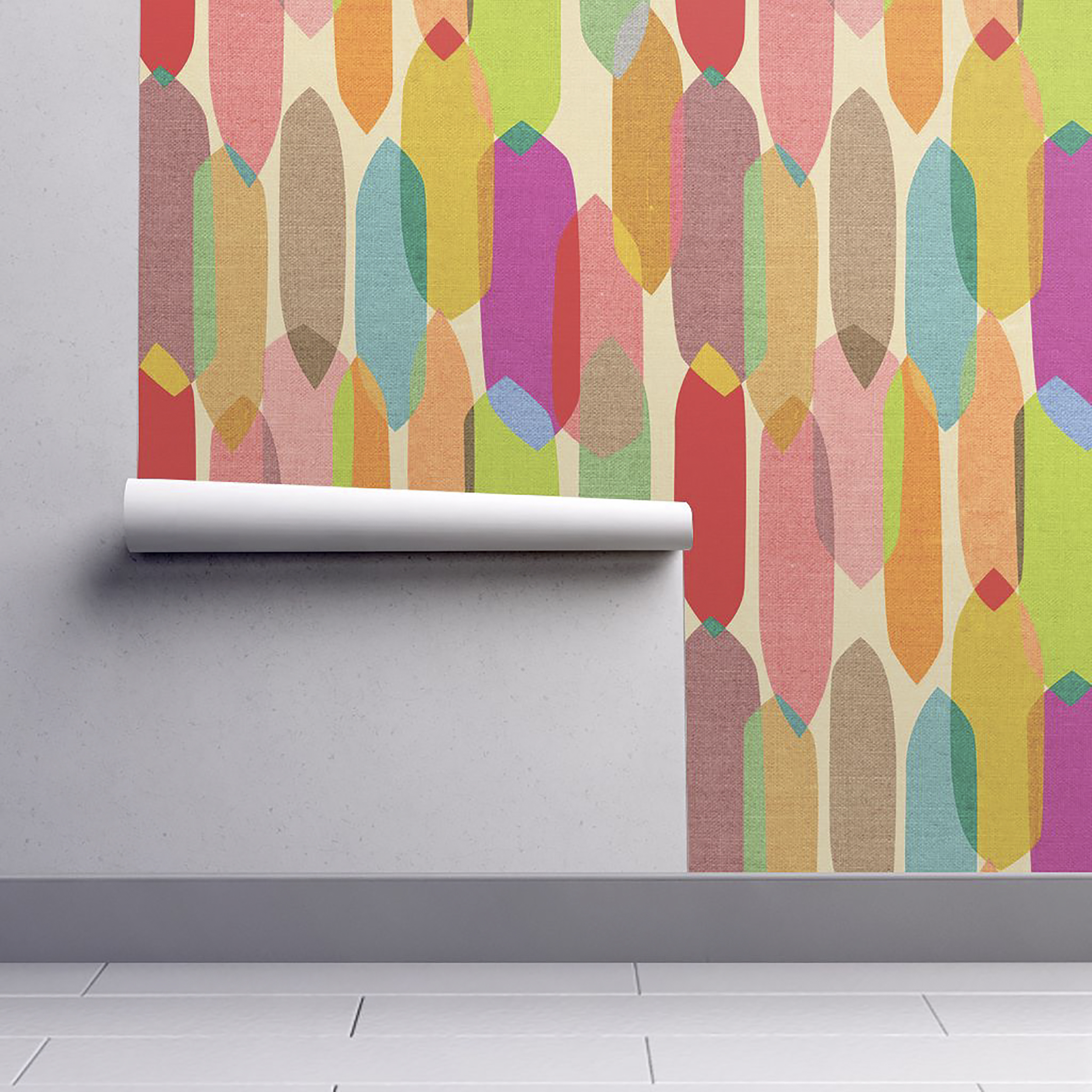Midcentury modern wallpaper lets you live out your 1950s dreams