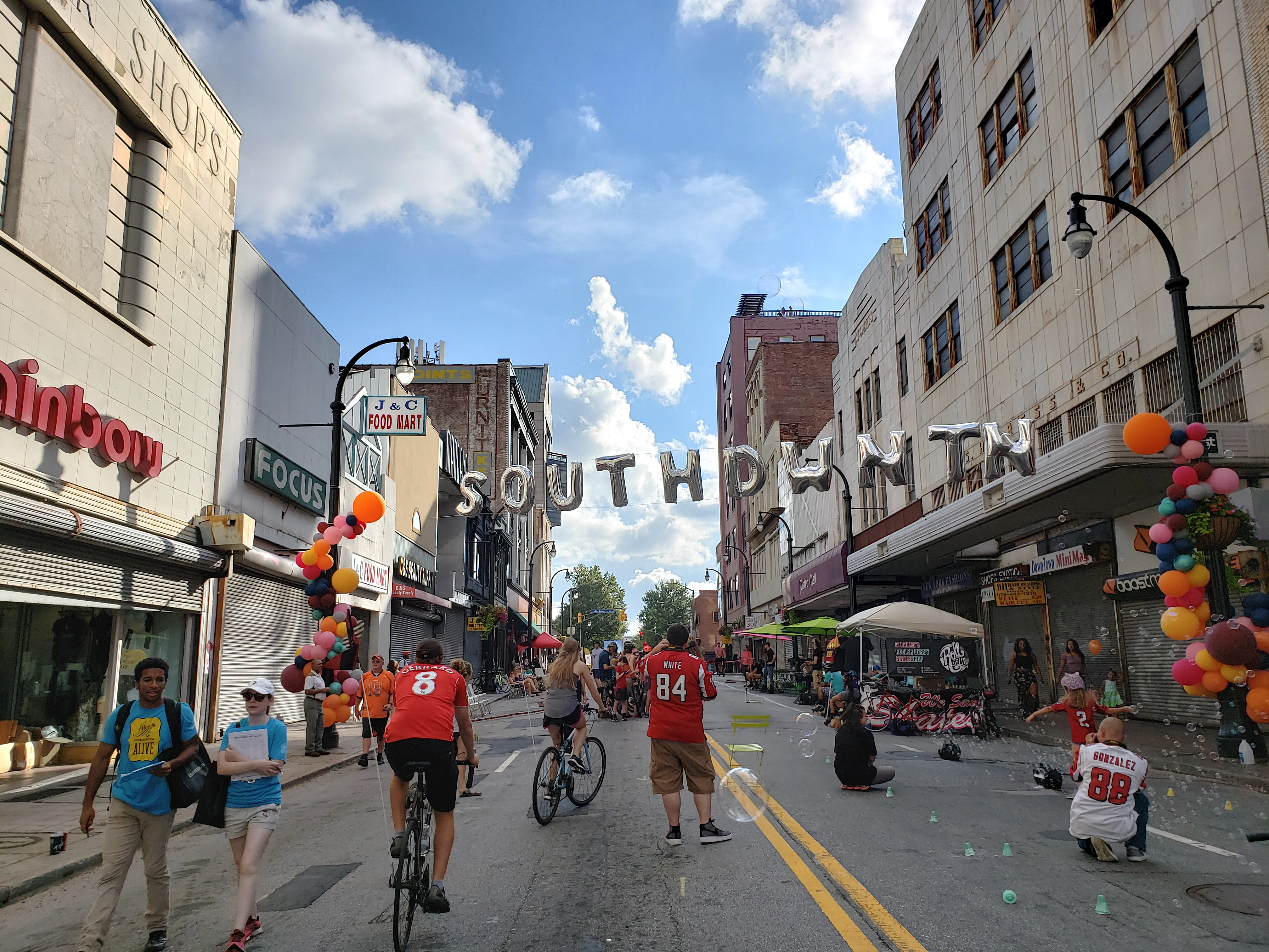 How South Downtown came alive Sunday.
