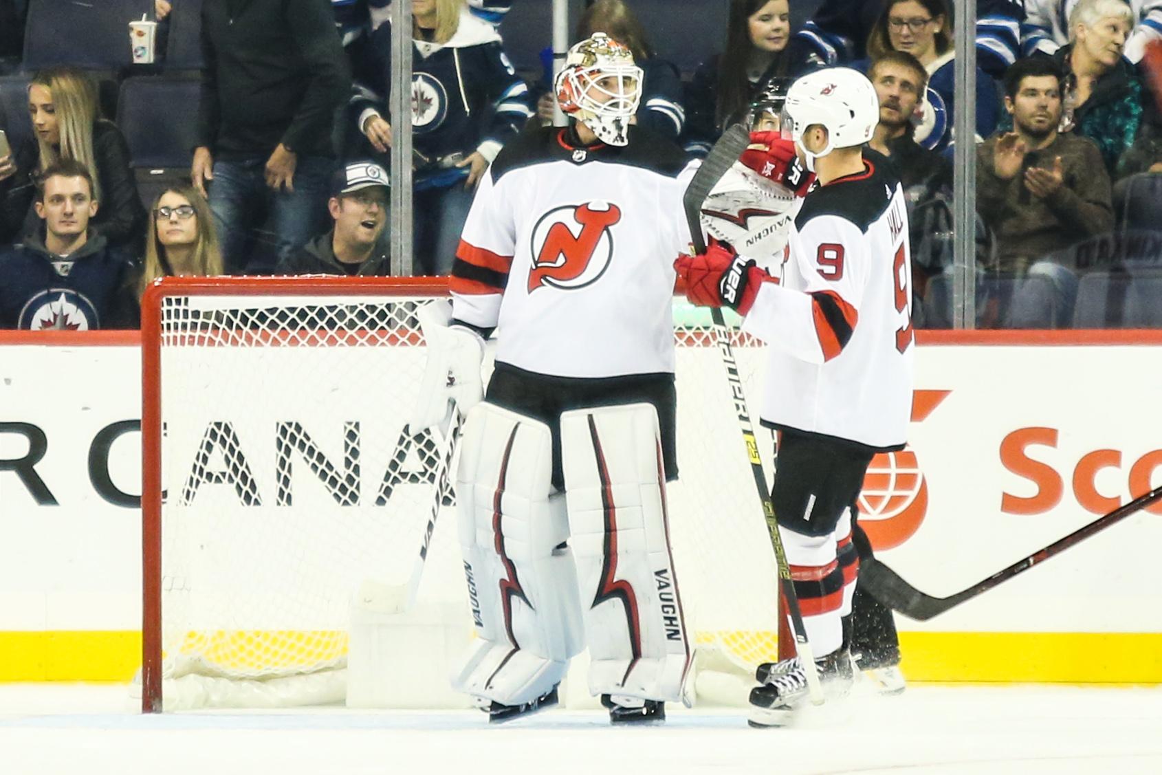 NHL: Preseason-New Jersey Devils at Winnipeg Jets