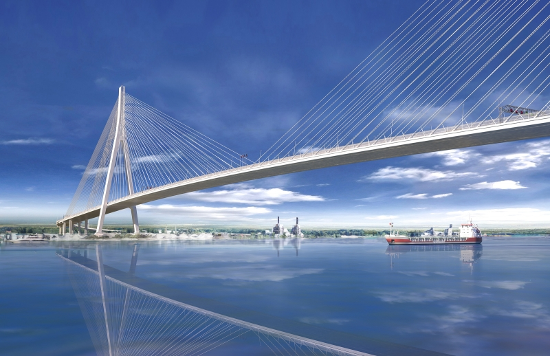 Gordie Howe International Bridge construction officially starts