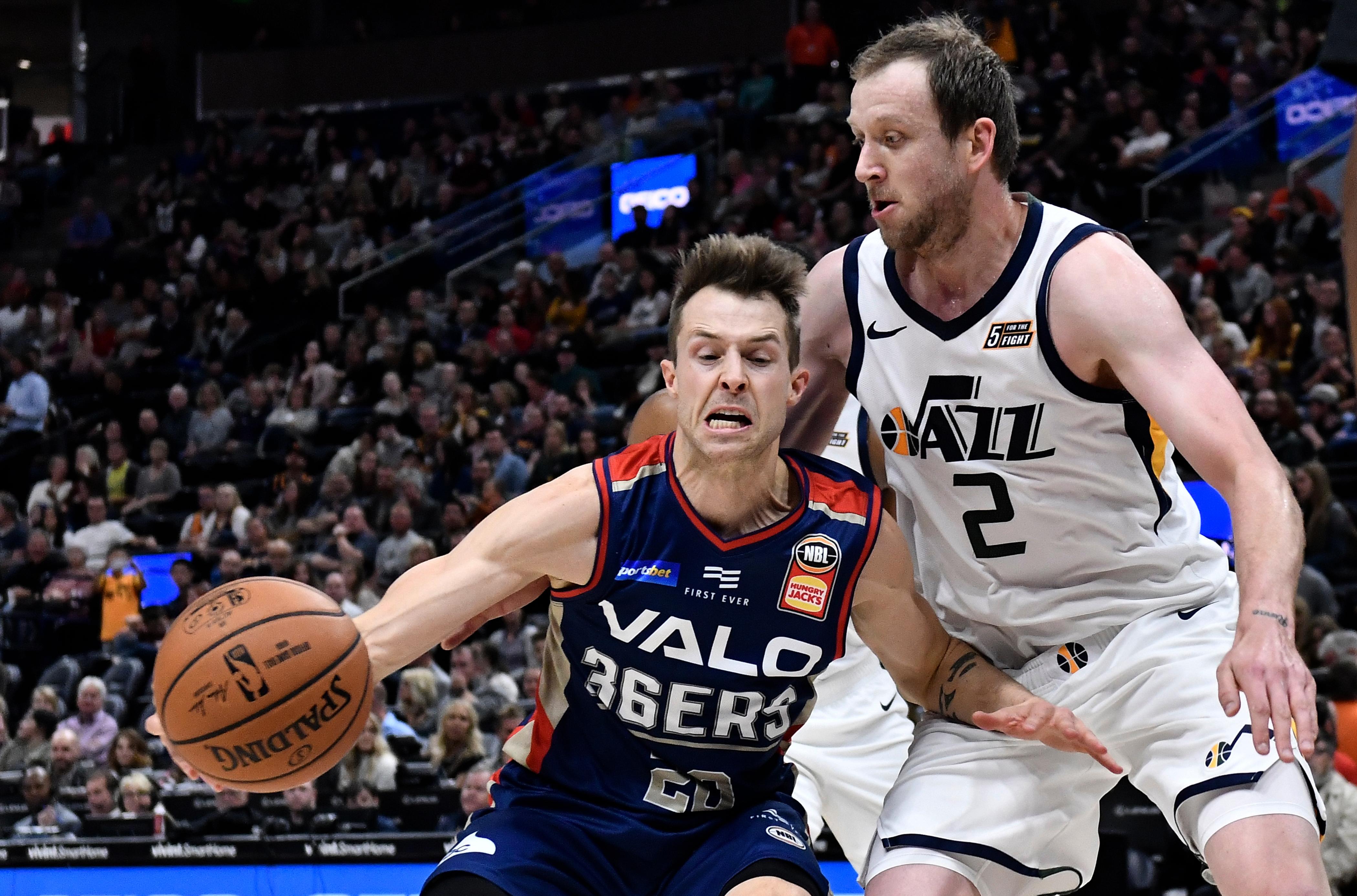 Adelaide 36ers v Utah Jazz