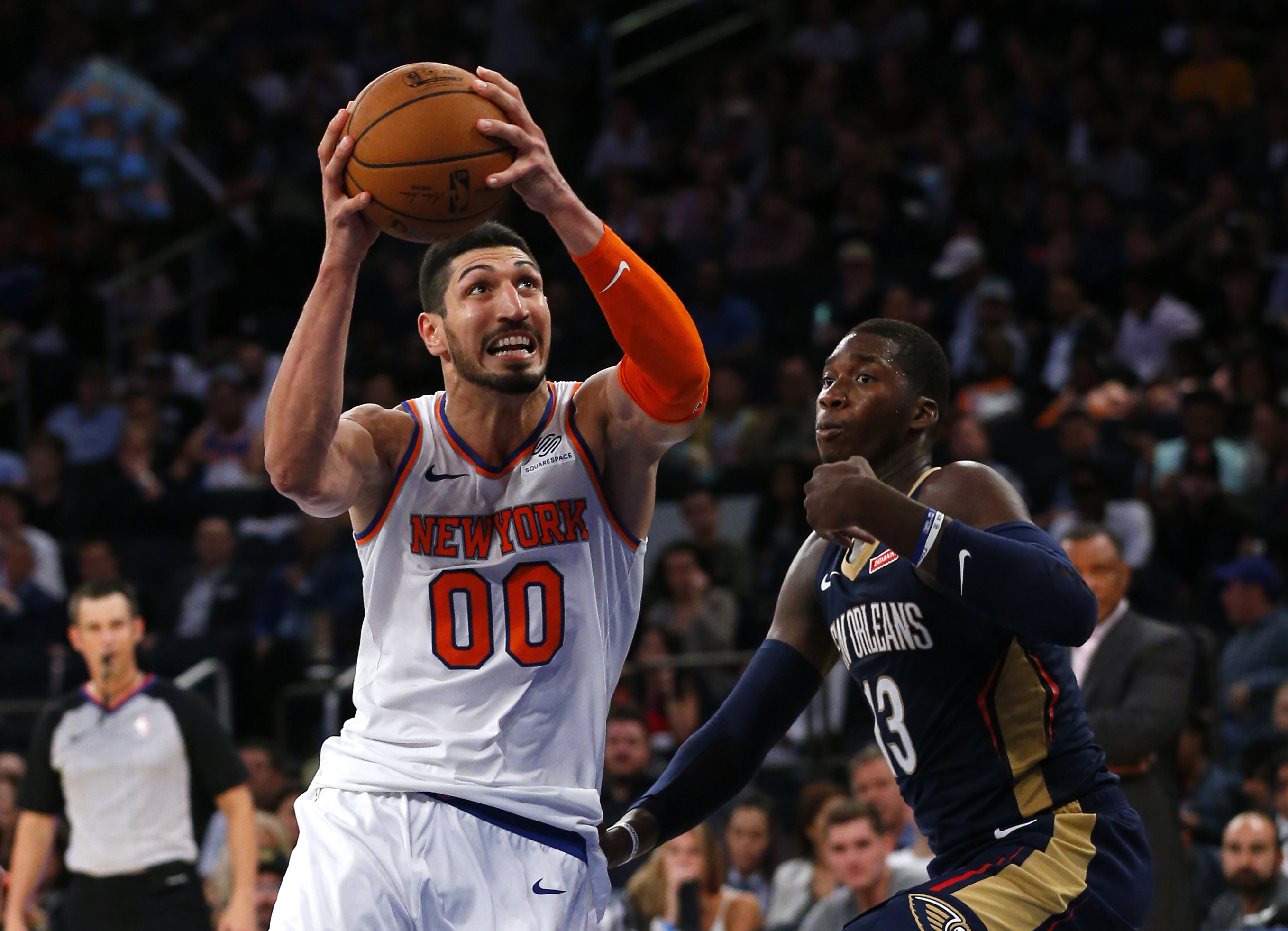 34b8bc3a1ea7 New Orleans Pelicans pantsed by New York Knickerbockers in sloppy 106-100  loss