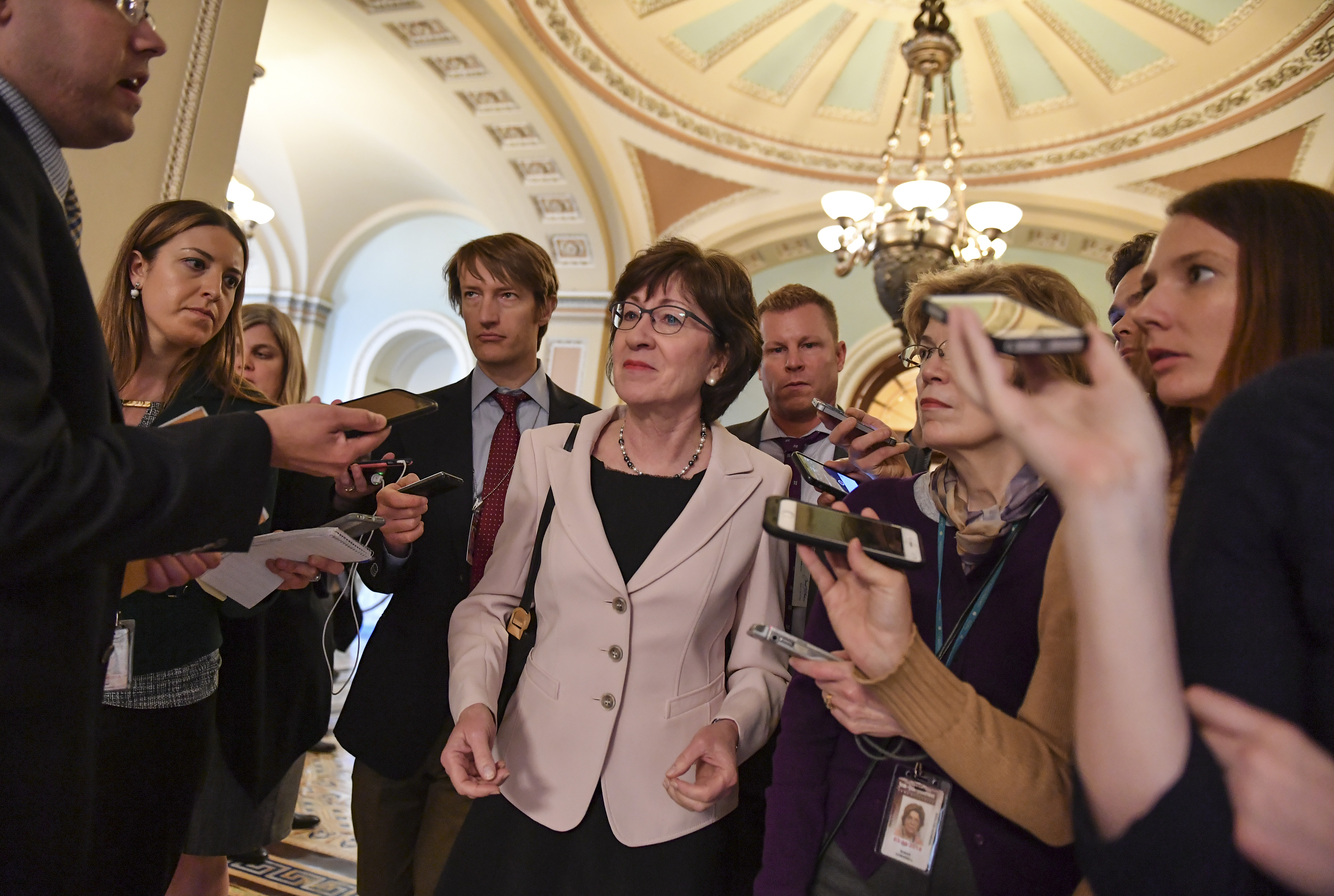Collins's speech shows that the guardrails were the problem all along